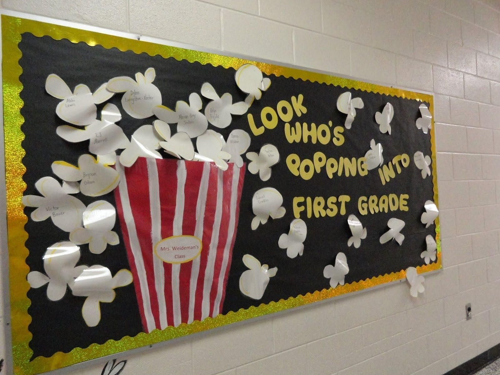 10 Most Recommended Beginning Of School Year Bulletin Board Ideas usually at the beginning of the school year each teacher has a 2020