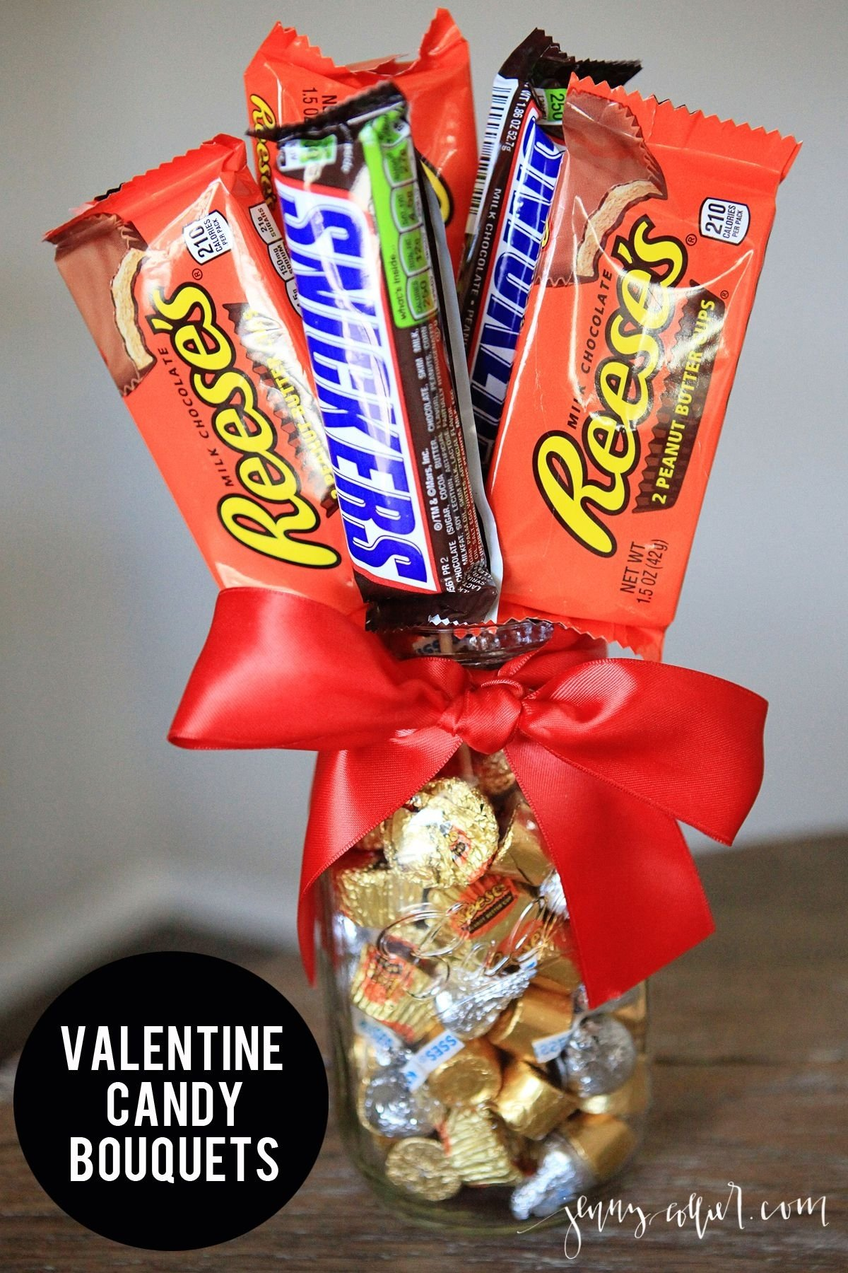 10 Attractive How To Make A Candy Bouquet Ideas