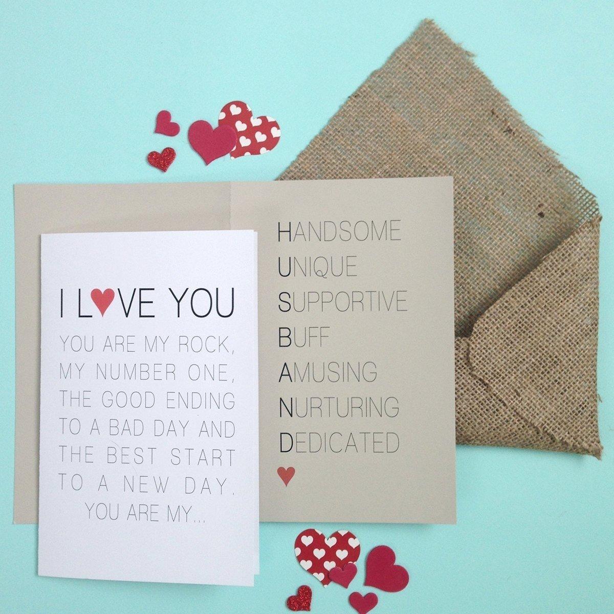 10 Stunning Valentine Card Ideas For Him