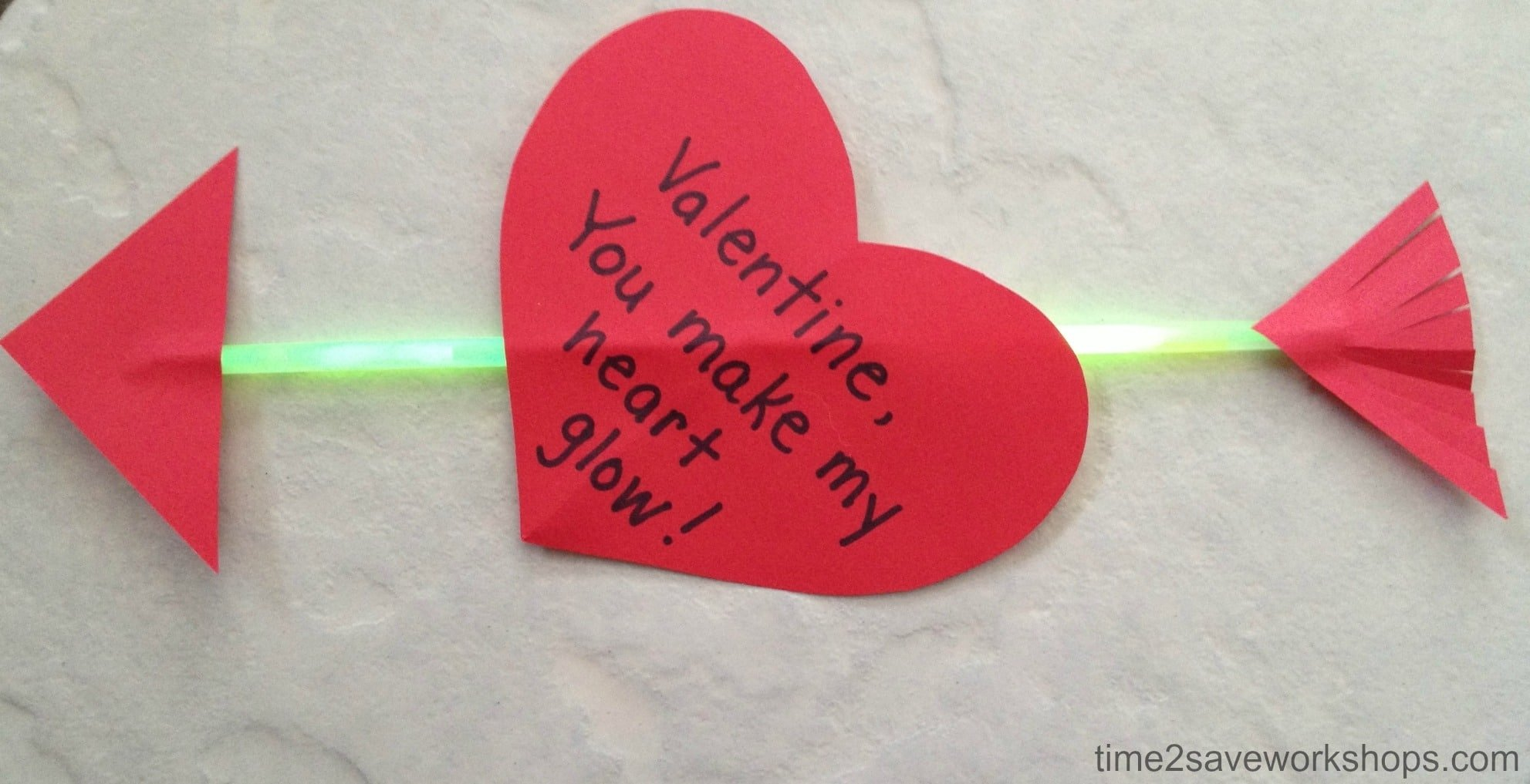 "valentine craft ideas: make their heart ""glow"" diy crafts! - kasey"