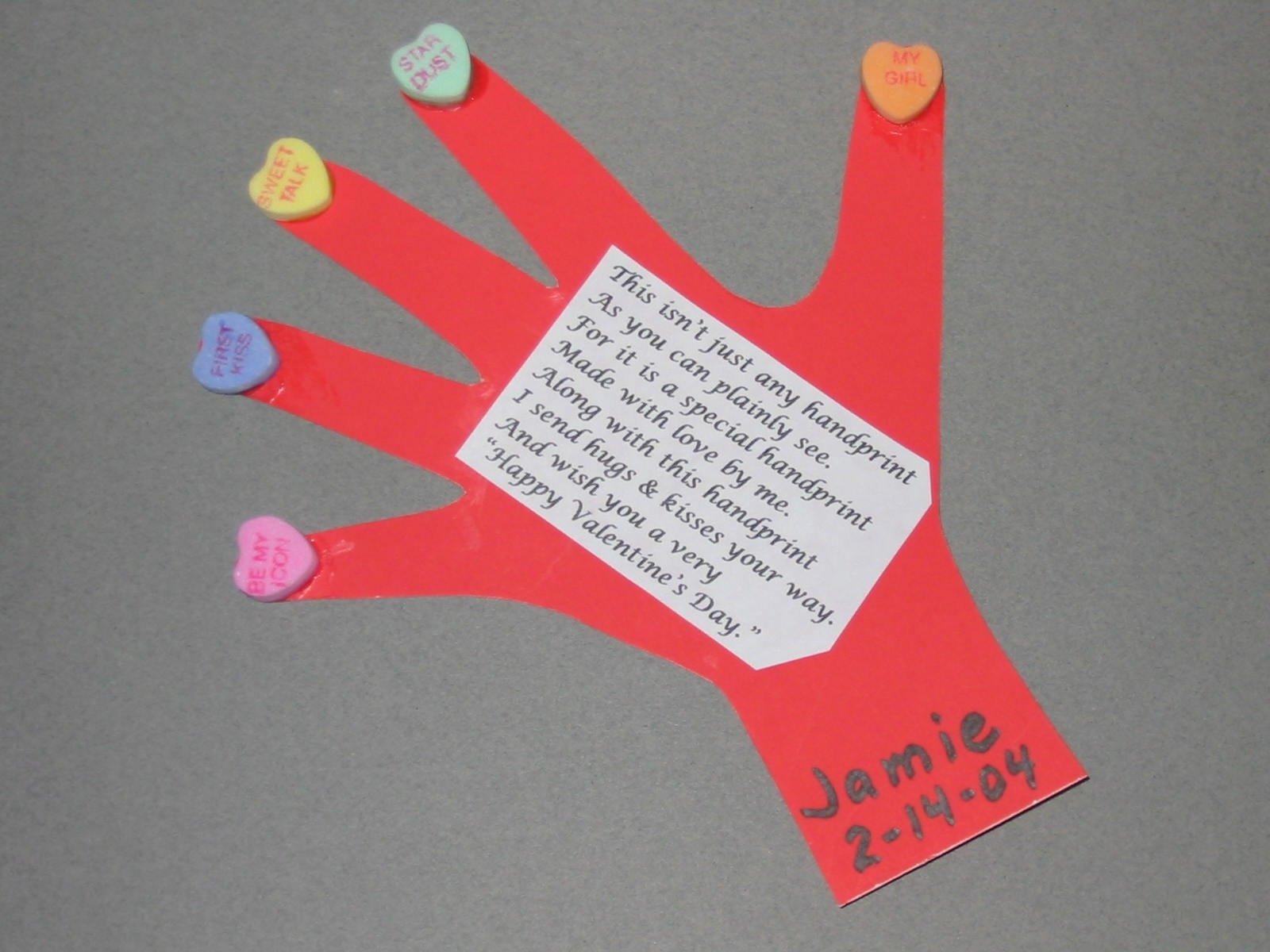 10 Attractive Craft Ideas For Valentines Day valentine day handprint craft dma homes 74235 2021