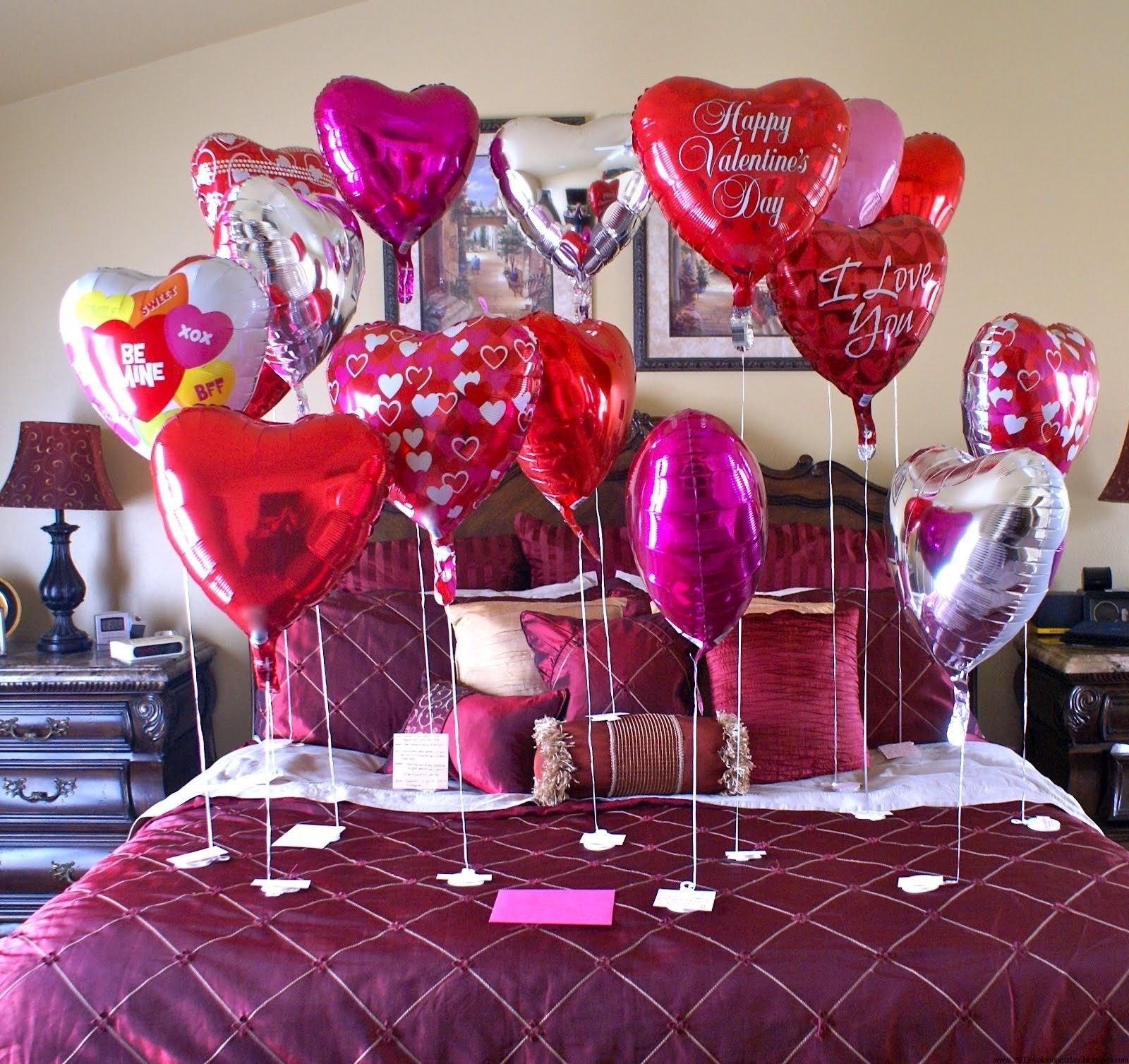 10 Ideal Valentines Day Ideas For Her valentine decoration ideas valentines day bed decoration ideas 2020
