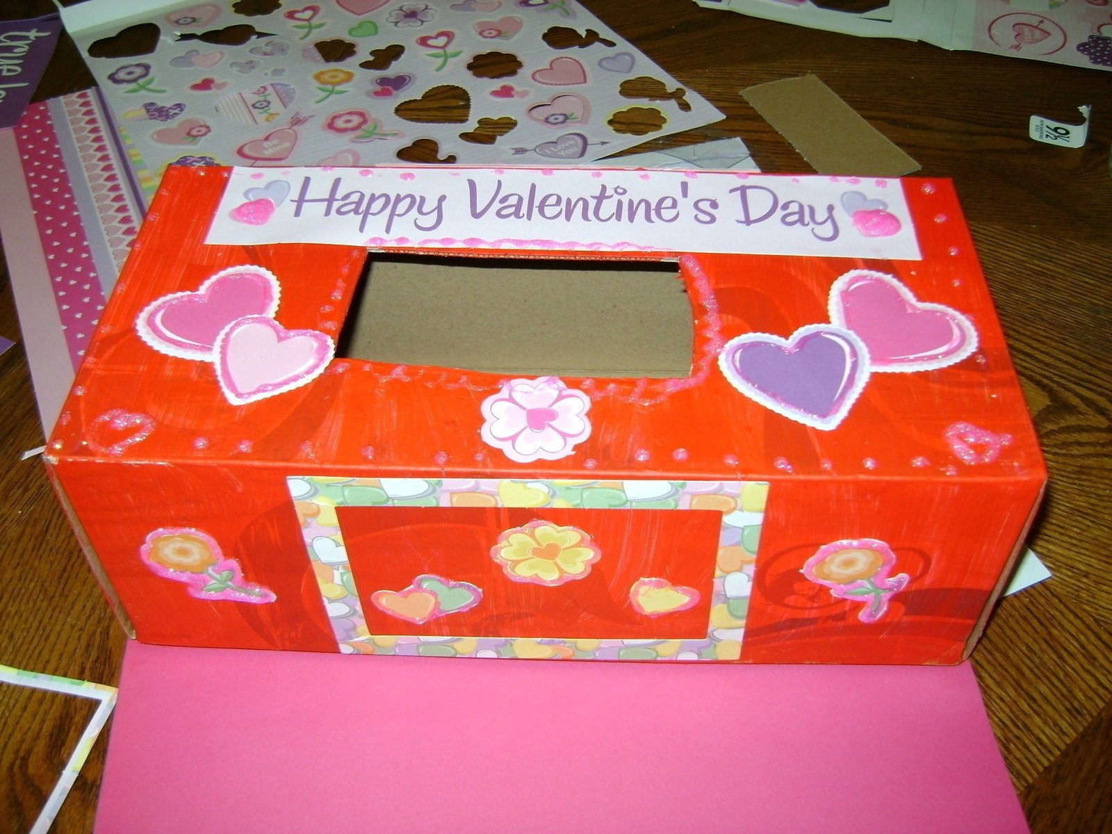 10 Stylish Valentine Shoe Box Decorating Ideas valentines box c2b7 how to make a decoupage box c2b7 decorating on cut out 2021