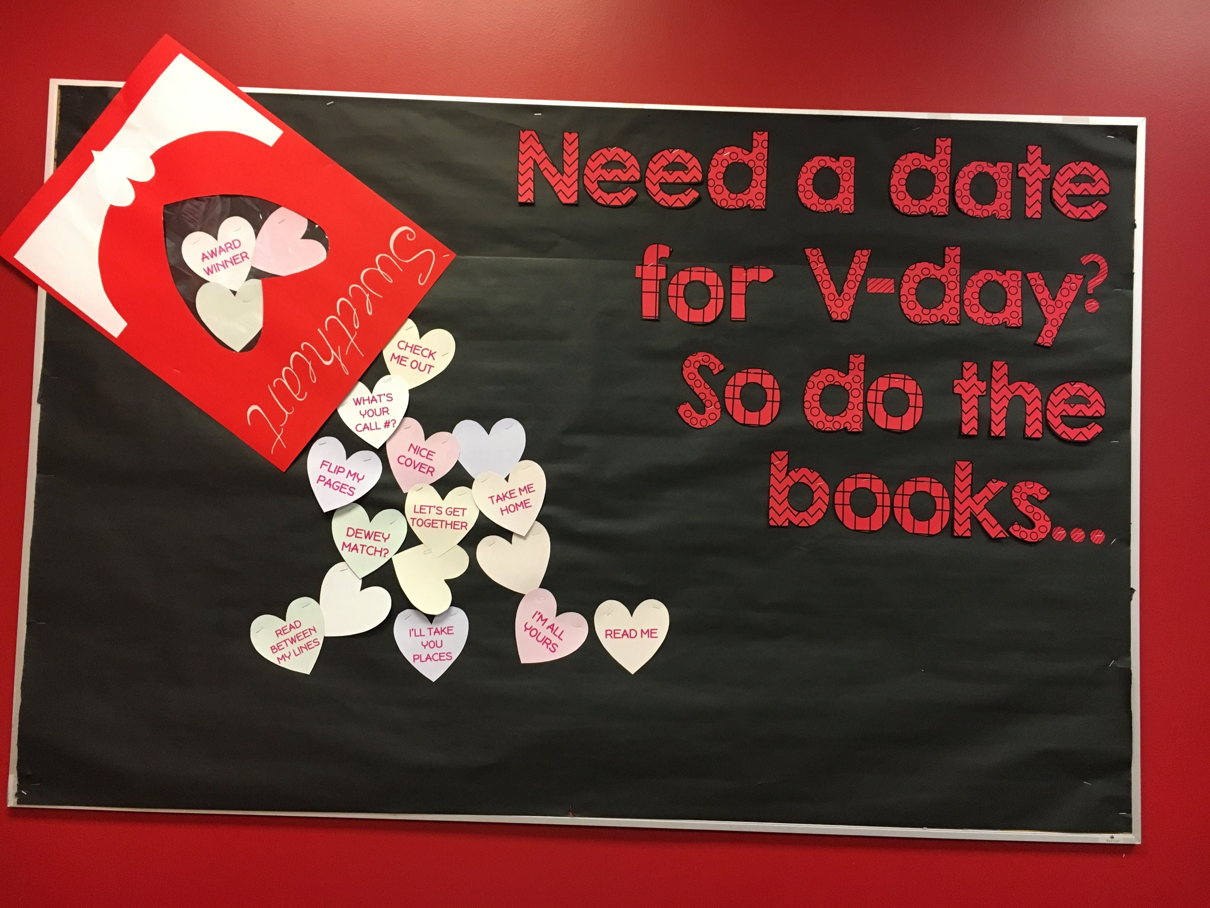 10 Ideal High School Valentines Day Ideas valentines bulletin board for middle or high school library 2020