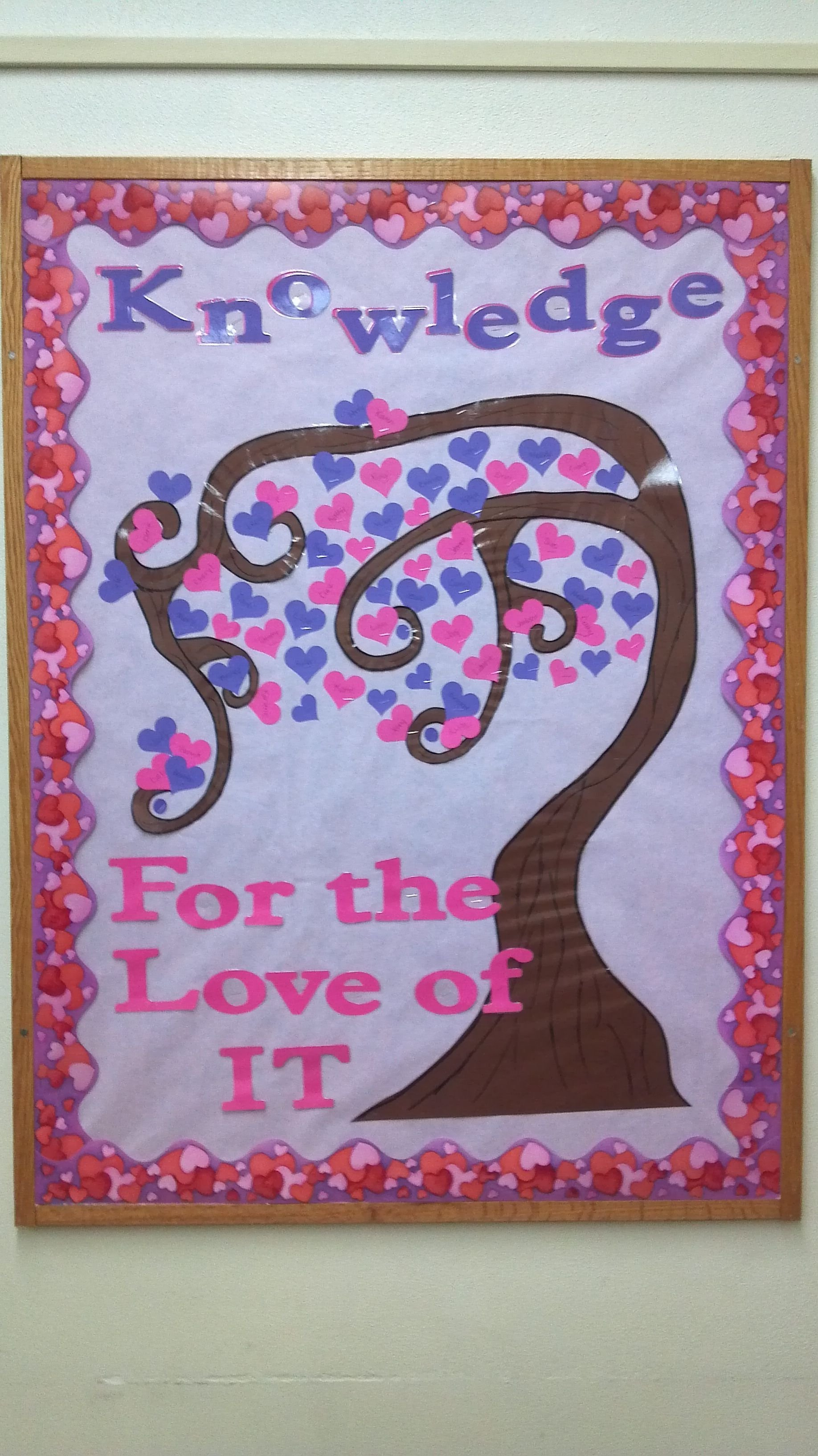 10 Cute February Bulletin Board Ideas For Preschool valentines bulletin board idea playing of tree of knowledge i