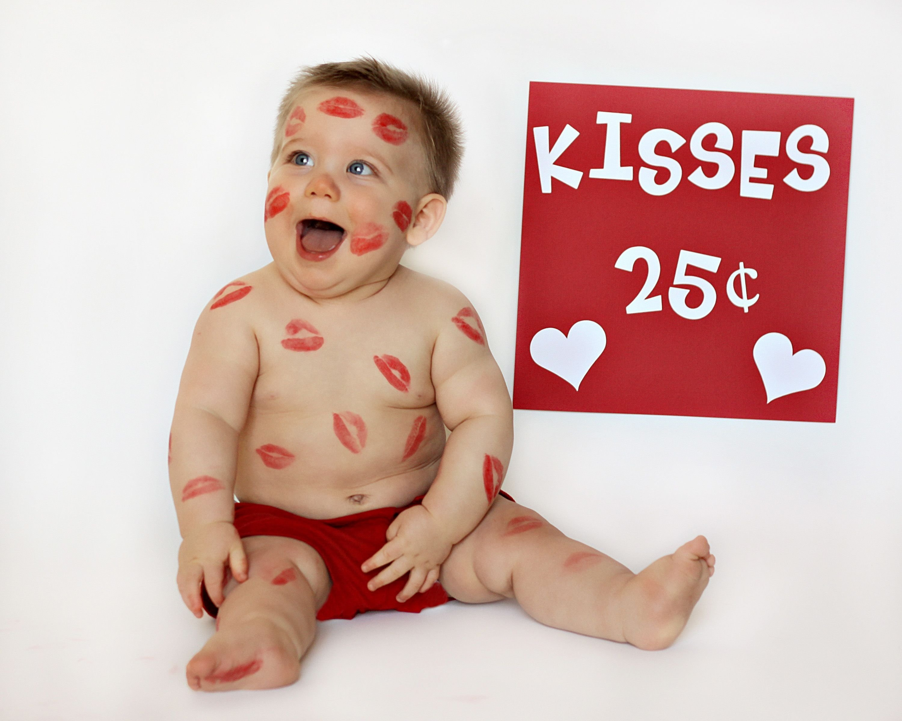 10 Fantastic Valentine Day Baby Photo Ideas valentines day baby names babies kiss and photography 2020