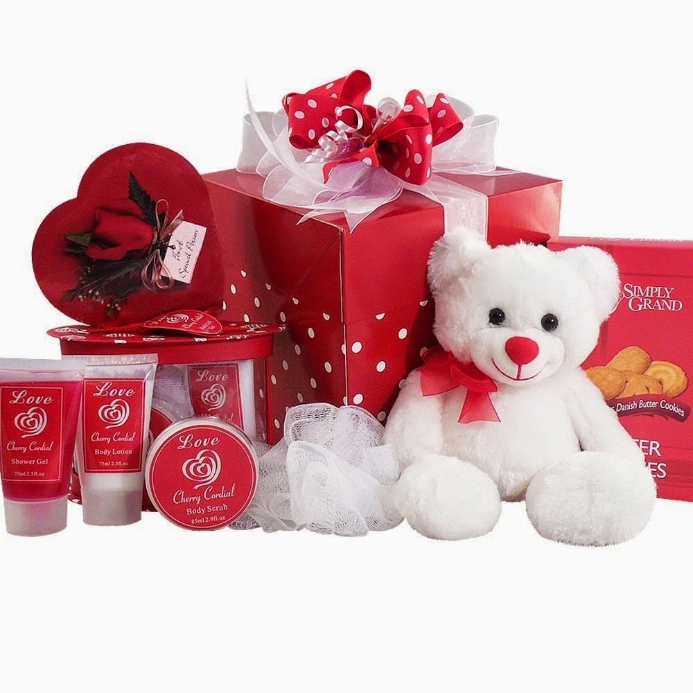 10 Spectacular Valentine Gifts For Her Ideas valentines day baskets for her startupcorner co
