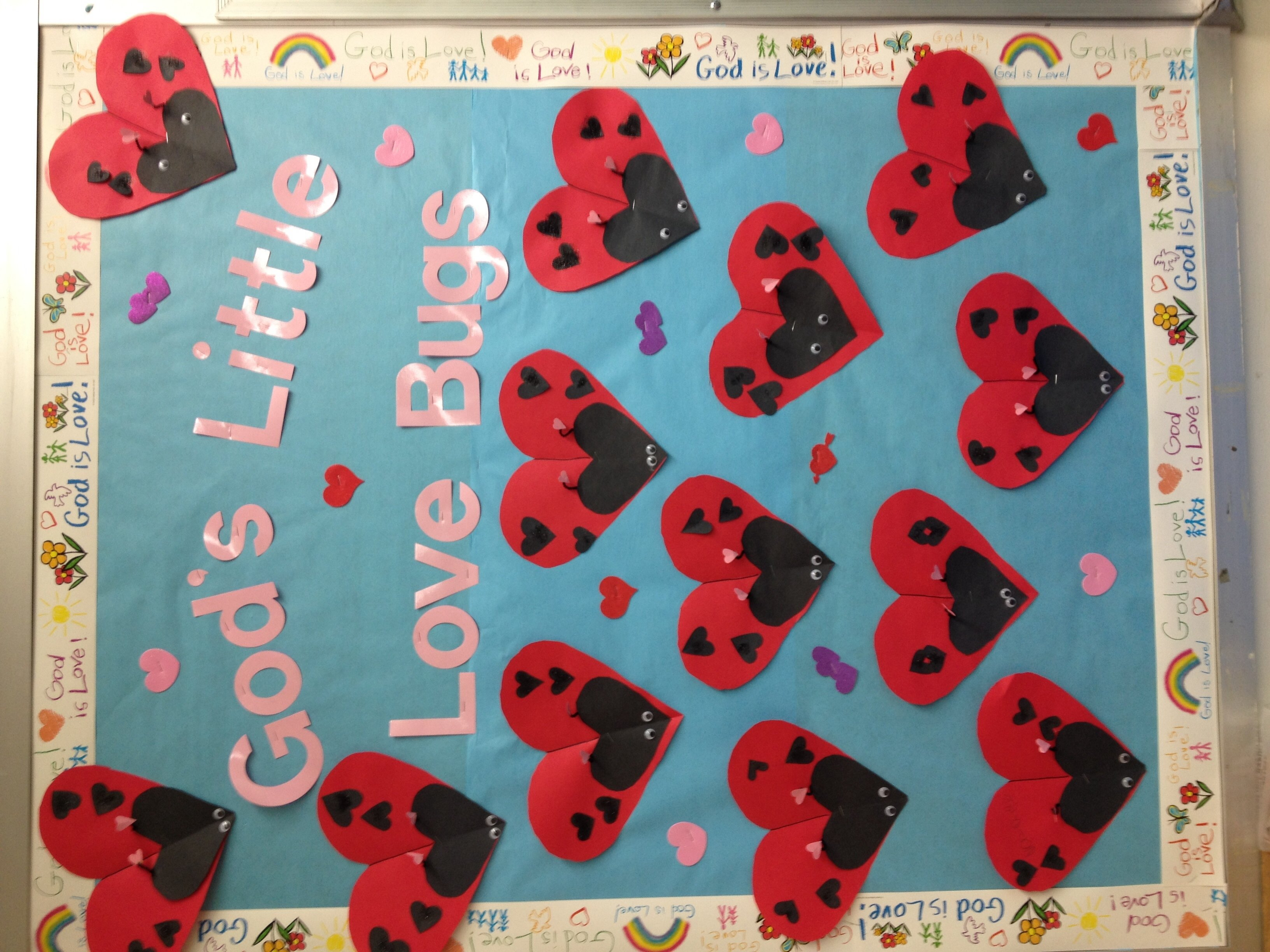 10 Cute February Bulletin Board Ideas For Preschool valentines day bulletin board 2014 kinder valentines day