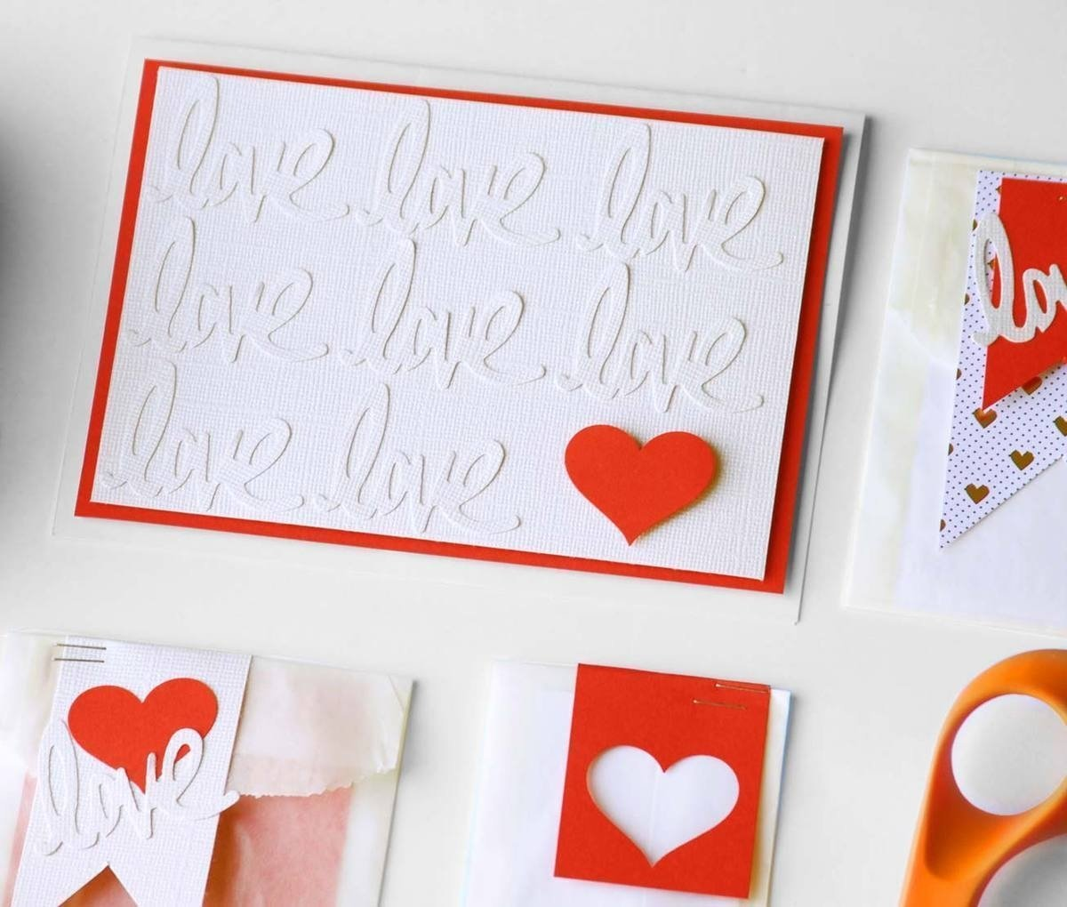 10 Fashionable Valentine Day Card Ideas Homemade valentines day cards gift bag ideas 1