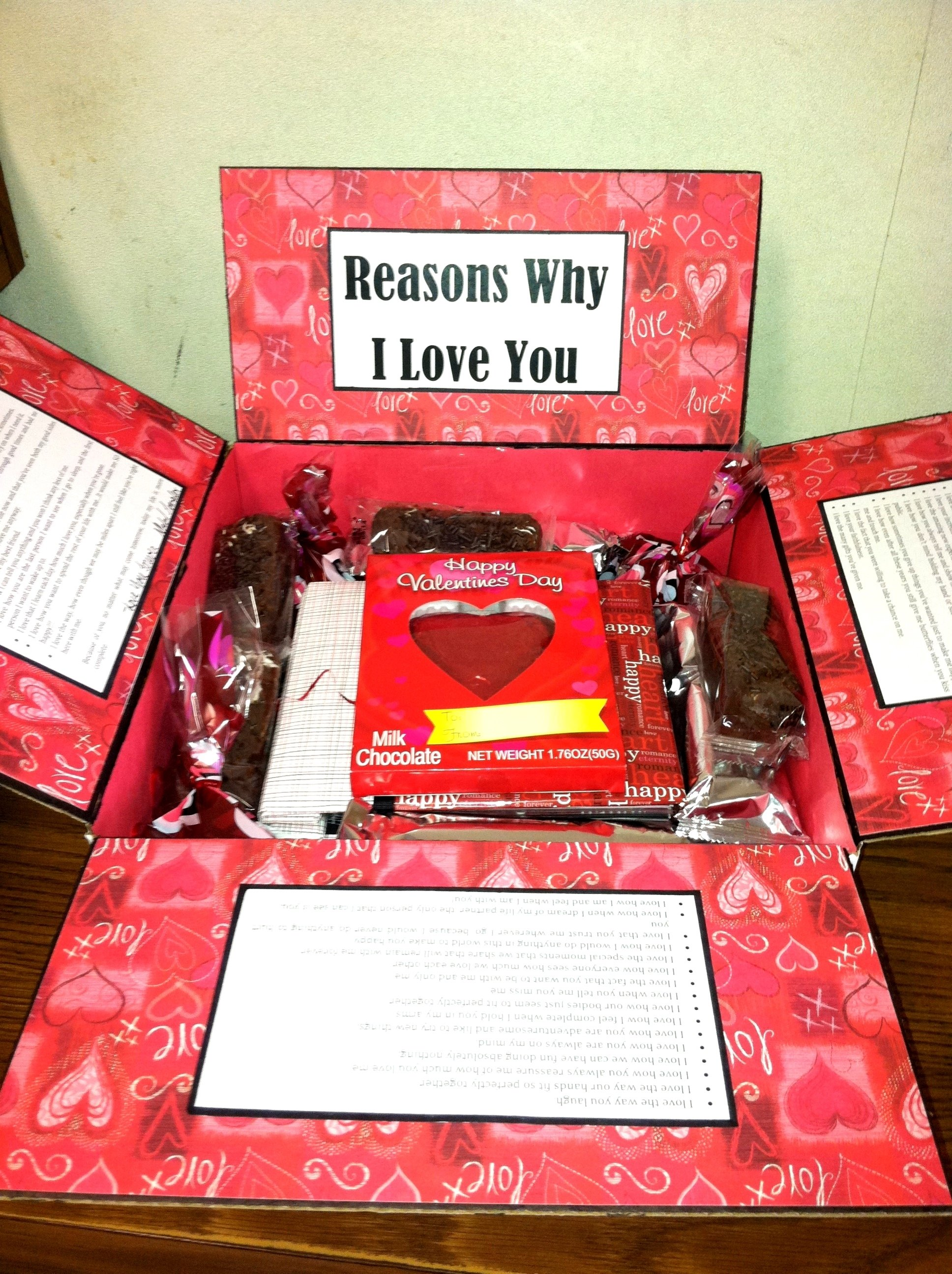 valentine's day care package i made for my soldier! | care packages