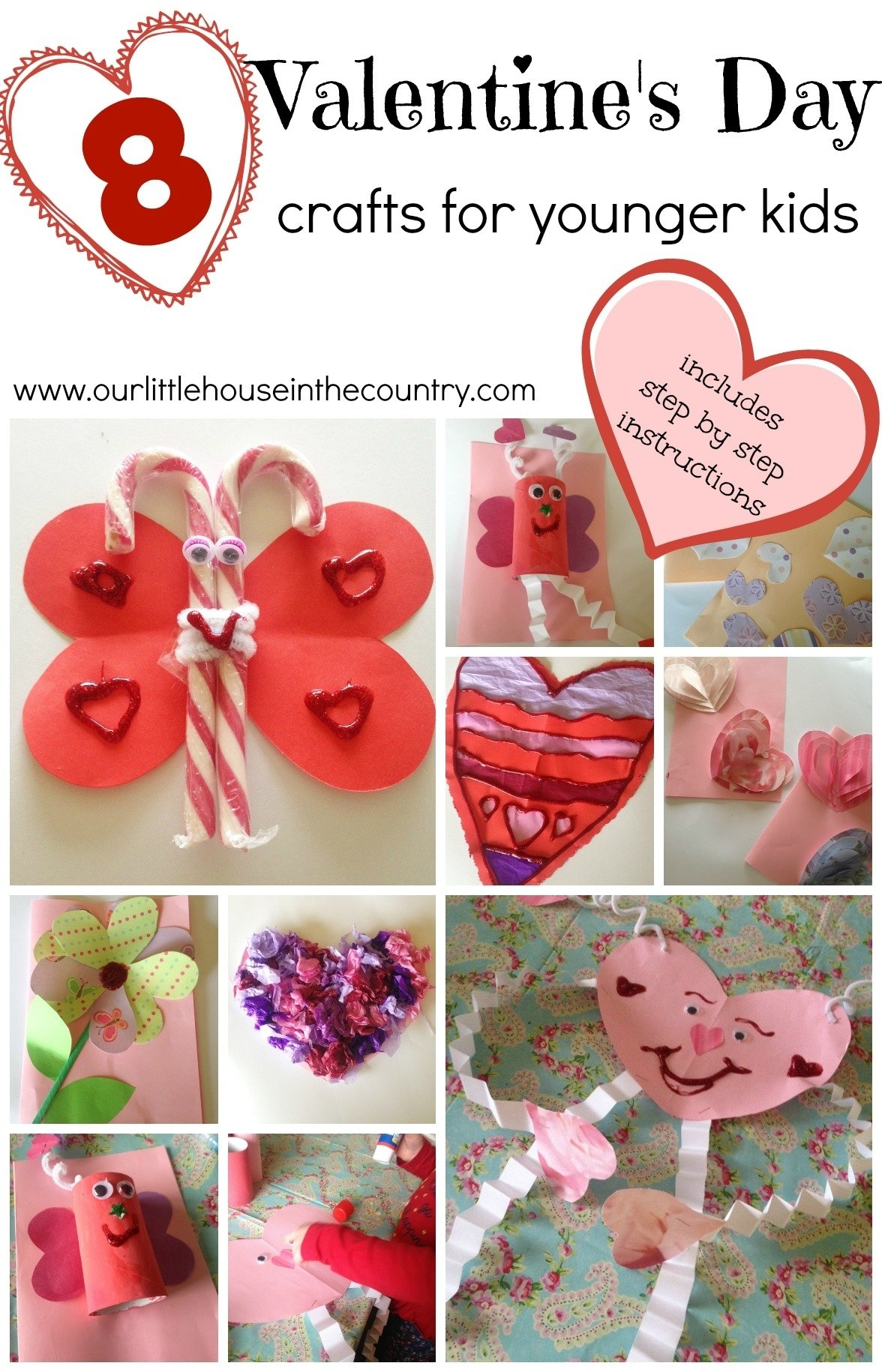 10 Famous Valentines Day Ideas For Kindergarten valentines day crafts for younger children preschool and early