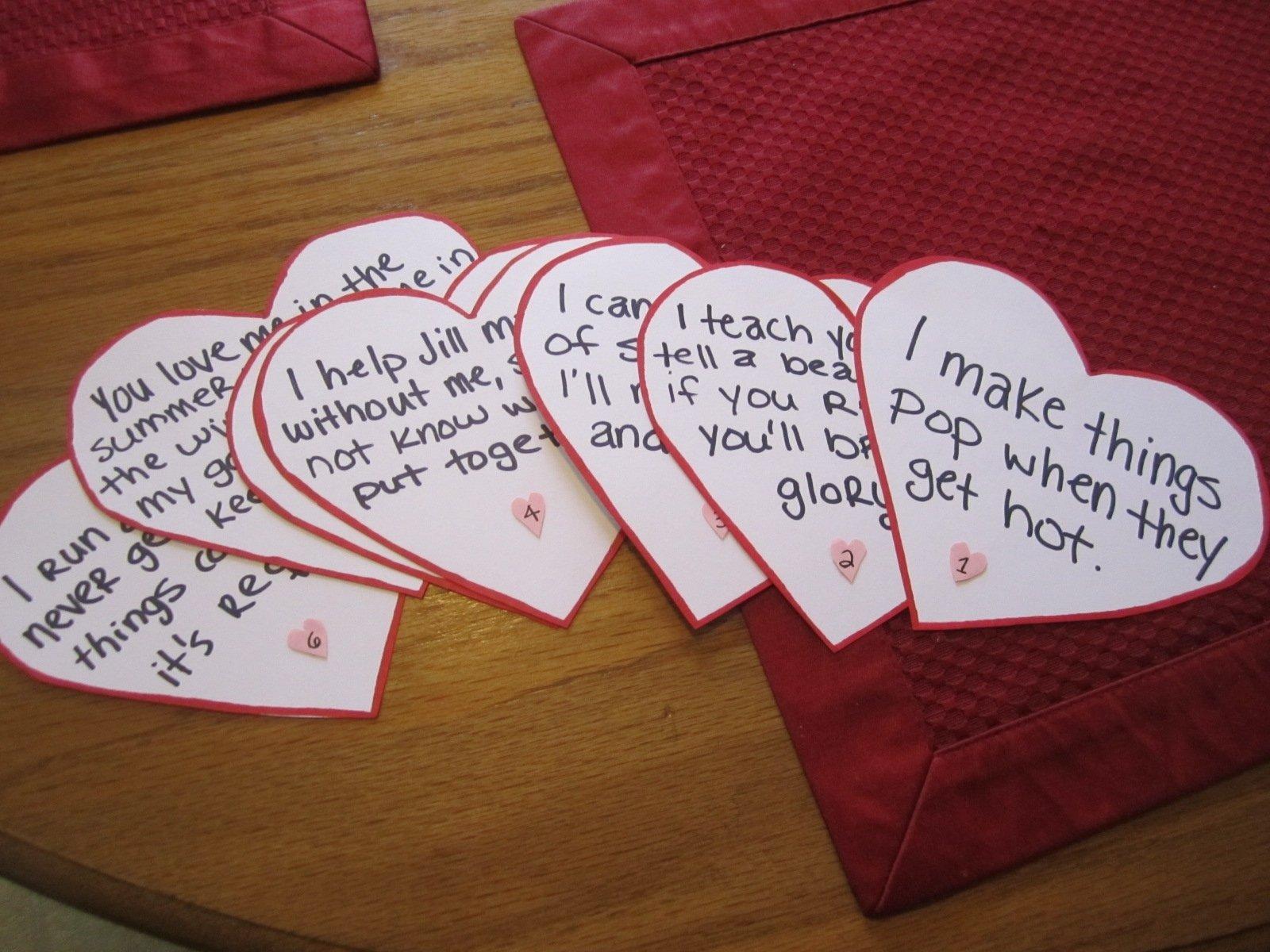 10 Unique Romantic Valentines Day Ideas For Him