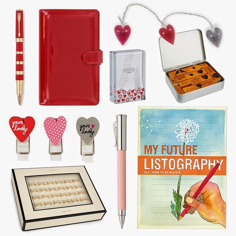10 Unique Gift Ideas For The Office valentines day gift ideas for the stationery addict in your life 2020