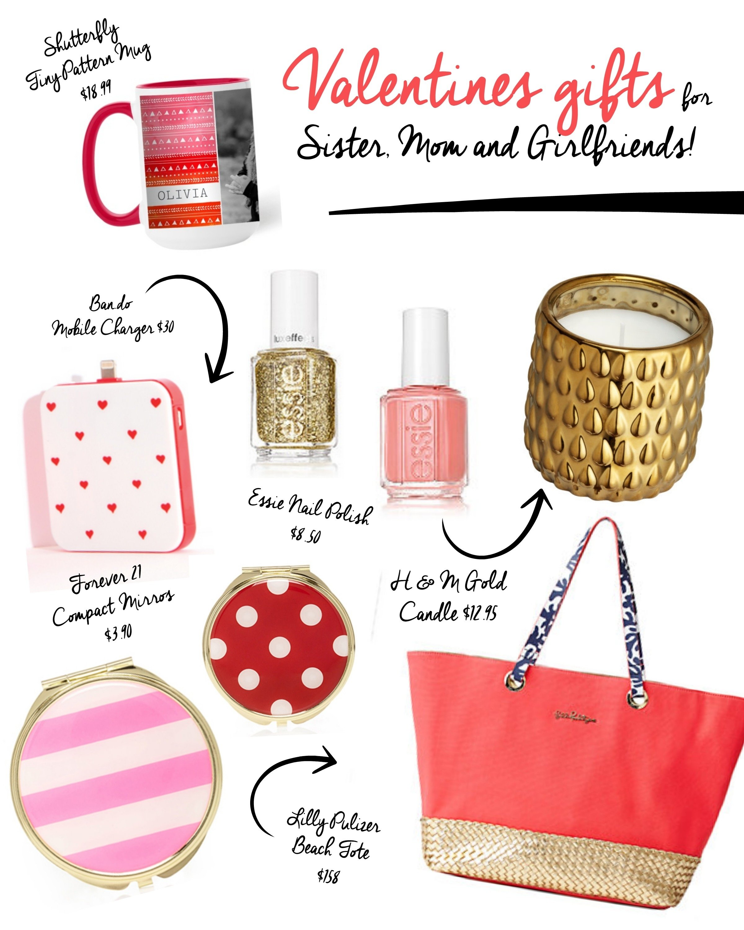 10 Stylish Gift Ideas For Your Sister valentines day gifts for sister mom and friends craft remedy 2020