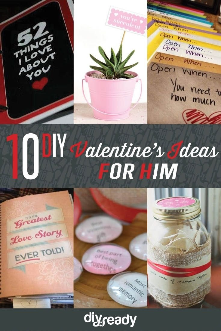 10 Elegant Sweet Valentines Day Ideas For Him