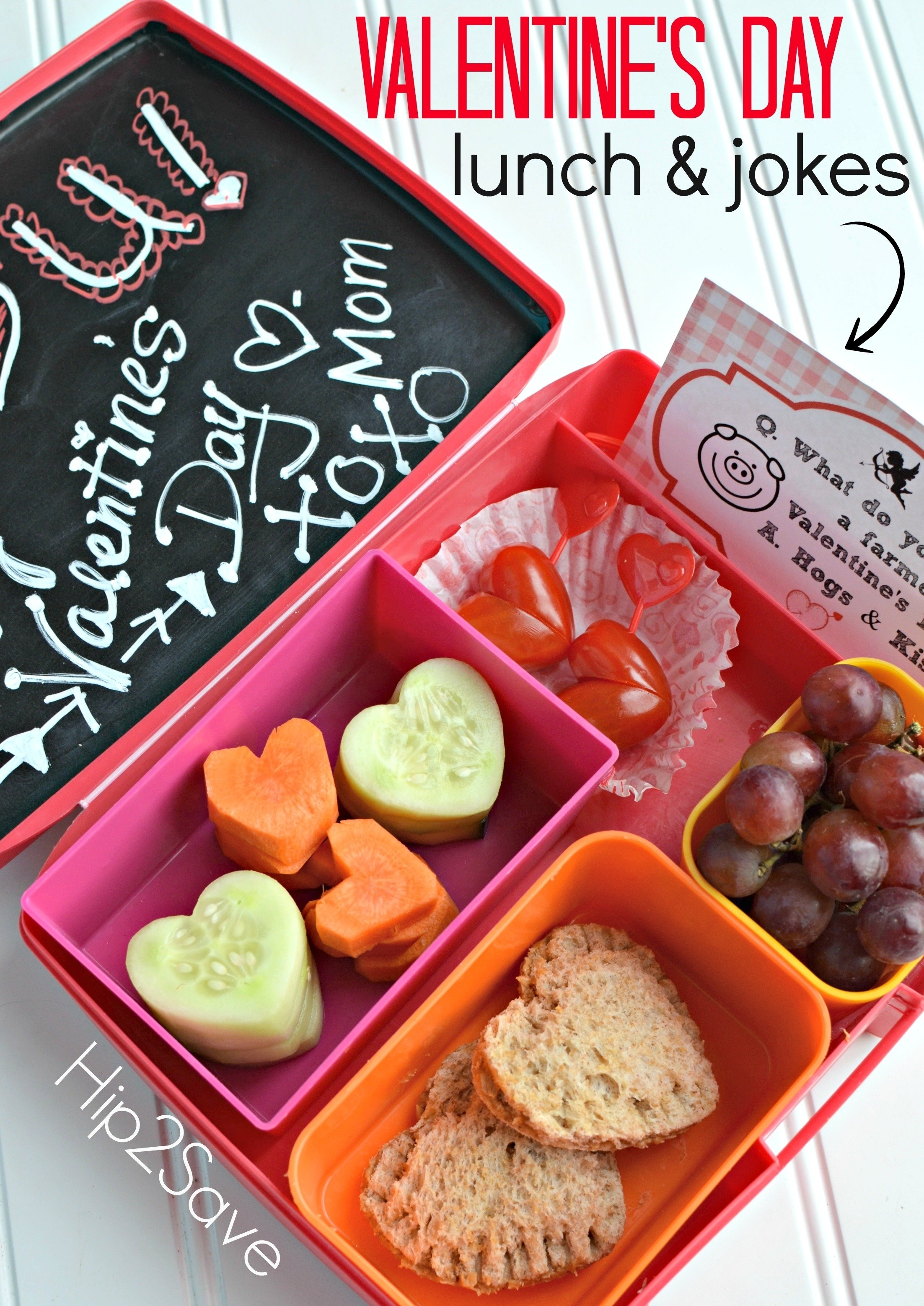10 Pretty Food Ideas For Valentines Day valentines day lunch ideas for kids free printables hip2save 2020