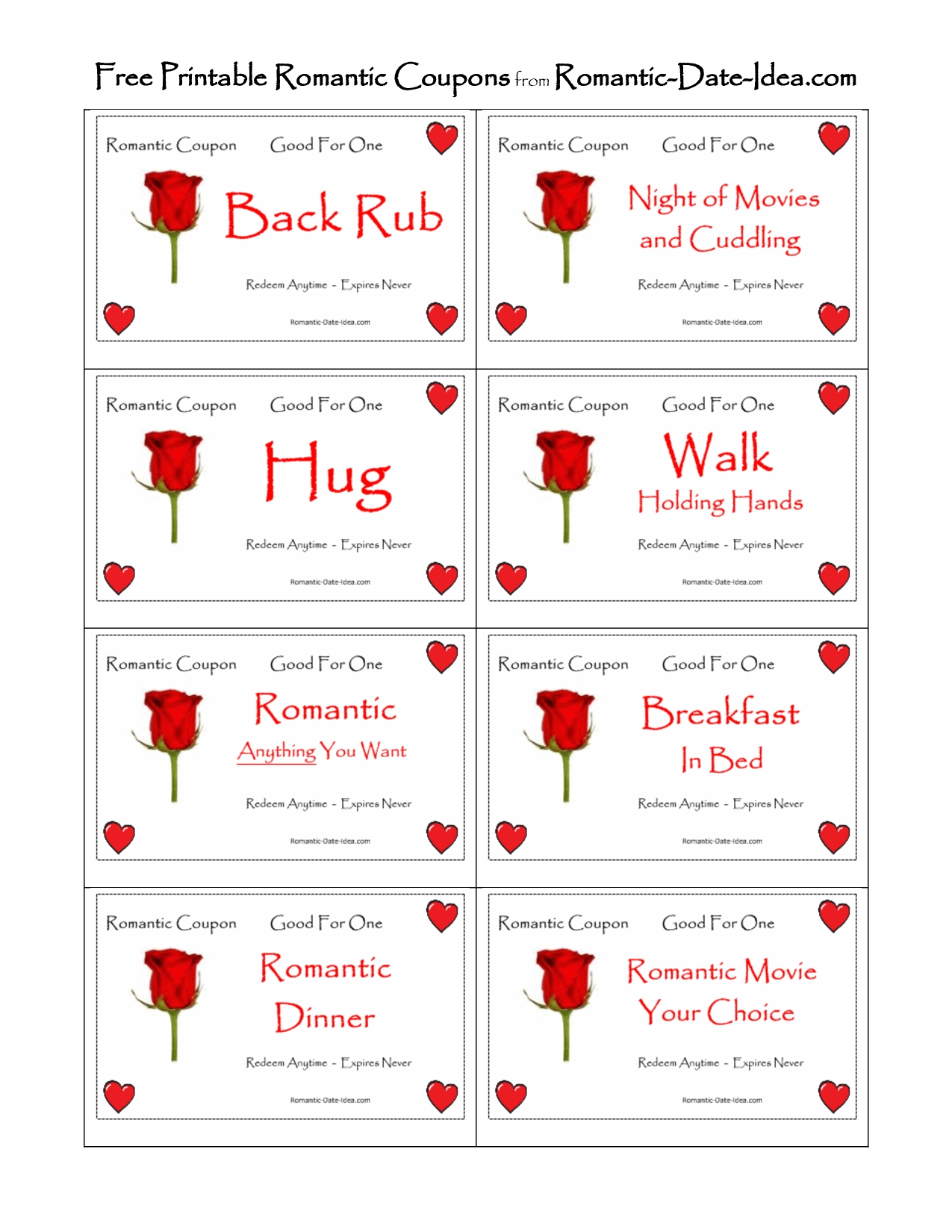 10 Unique Romantic Coupon Ideas For Him valentines day old school sometimesgetting back to the basics 2020
