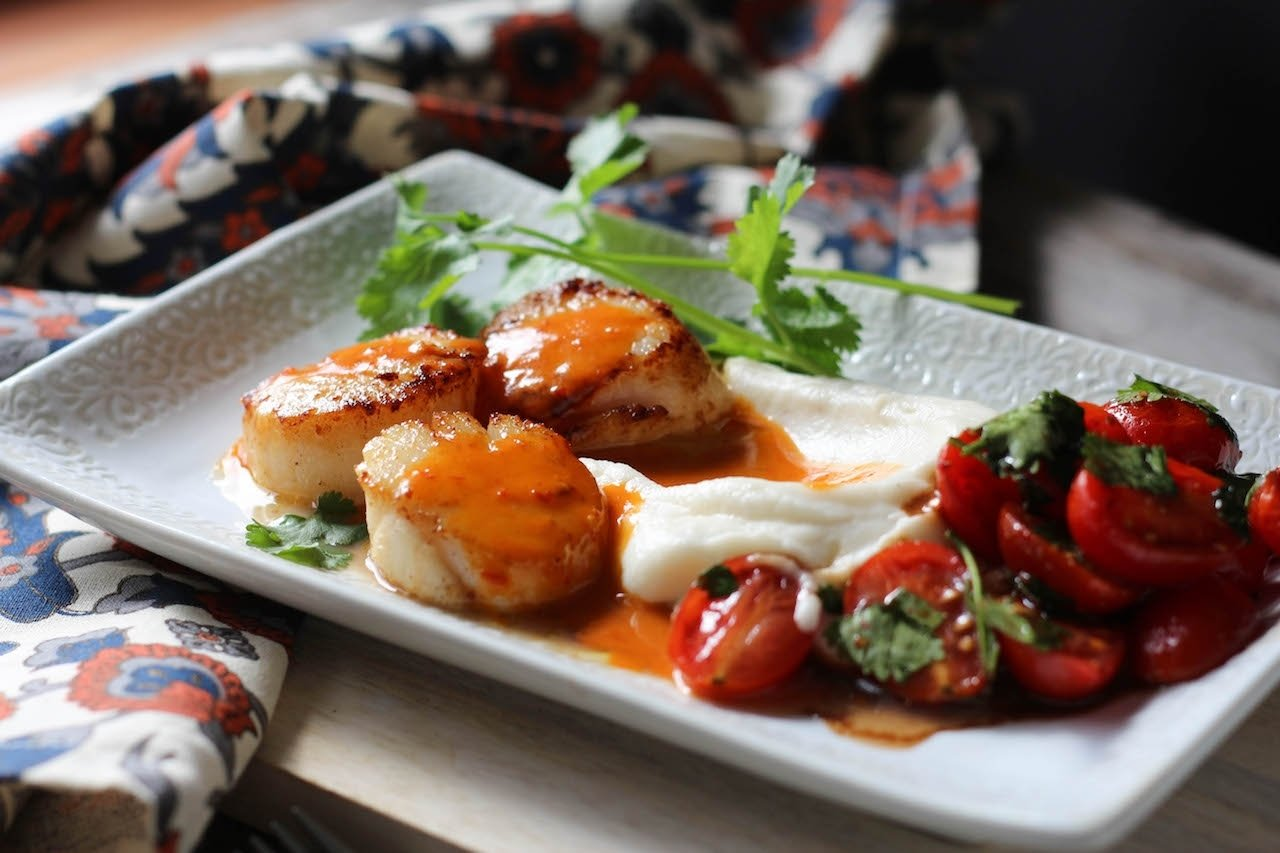 10 Fashionable Ideas For Dinner For Two valentines day seared scallops dinner for two 1