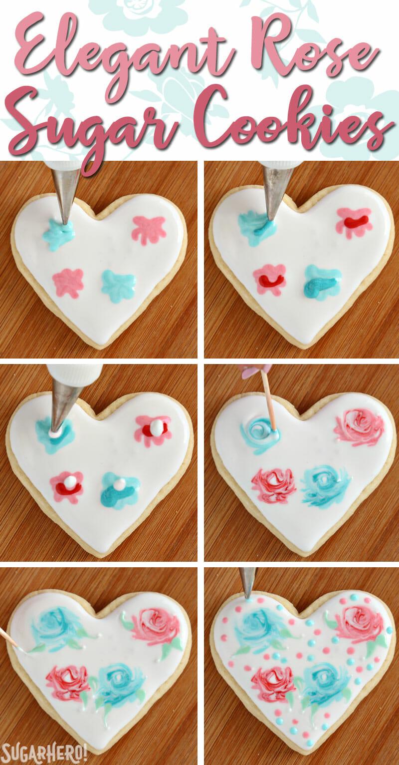 10 Amazing Easy Sugar Cookie Decorating Ideas valentines day sugar cookies sugarhero 2021