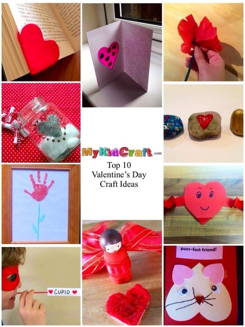 10 Best Valentine Craft Ideas For Kids valentines day valentines day craft ideas for kids homemade 5 2021