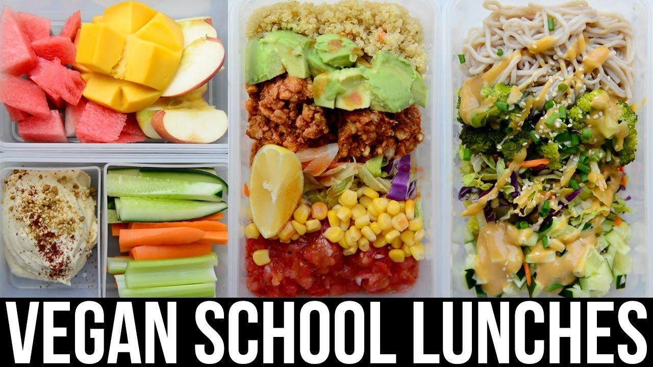 10 Best Easy Healthy Lunch Ideas Work vegan lunch ideas for school work e299a1 easy healthy e299a1 vegan 5 2020