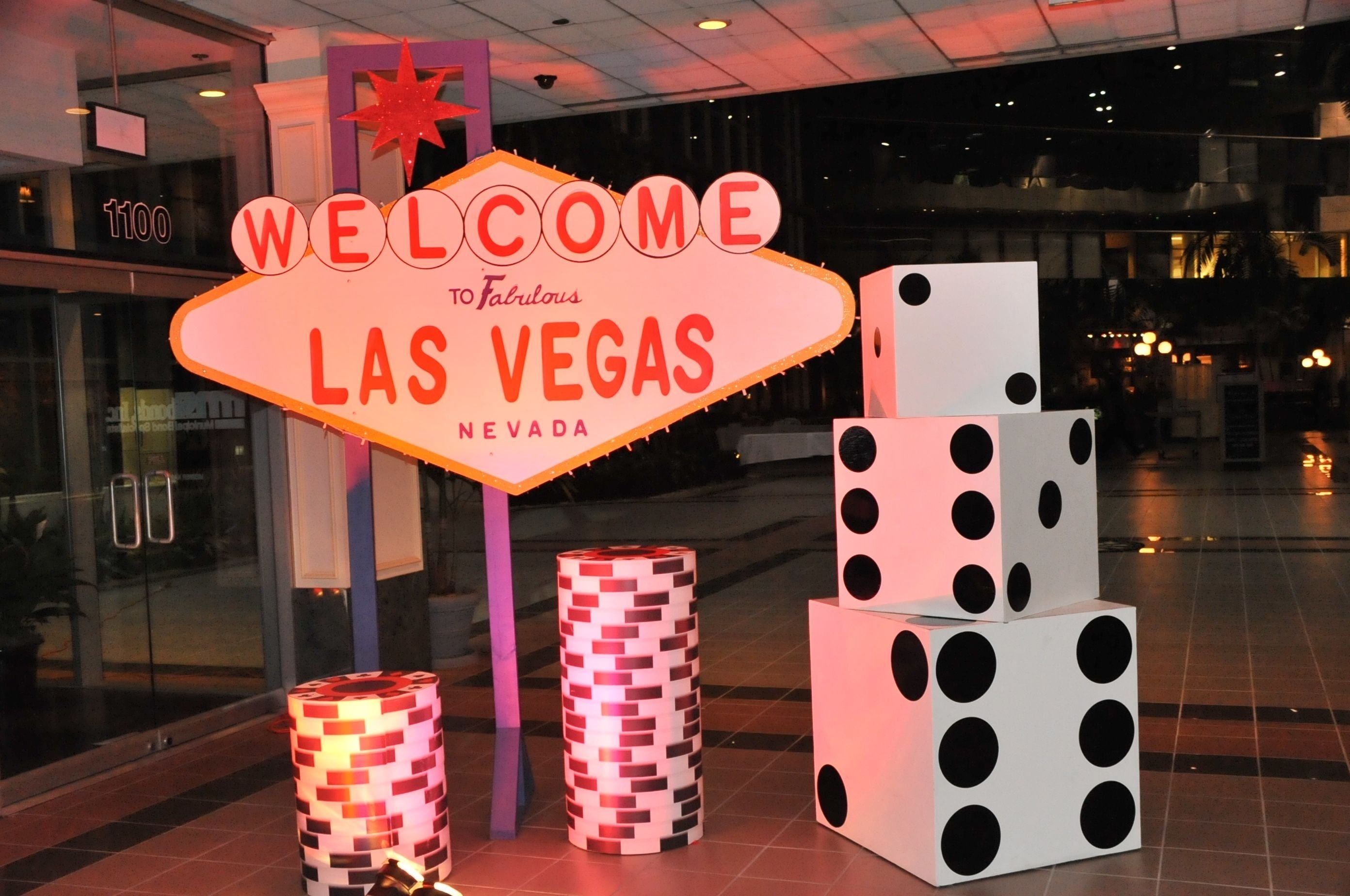 vegas themed party | private casino & casino parties in palm beach