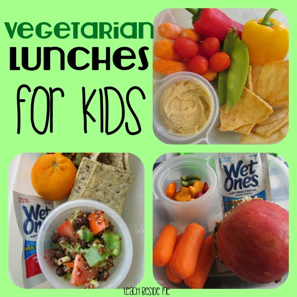 vegetarian lunch ideas for kids - teach beside me