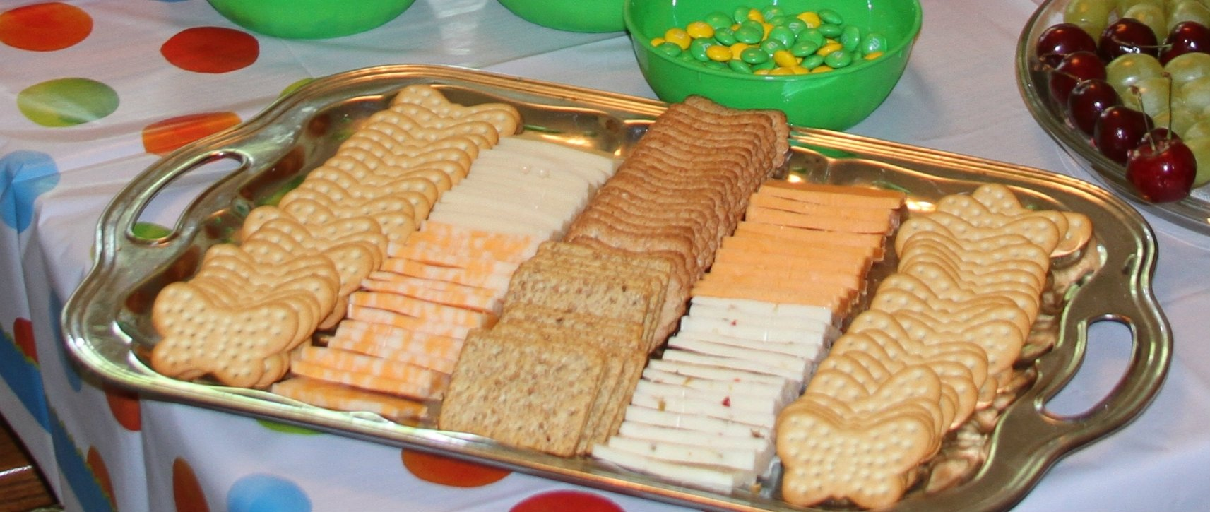 10 Fantastic Cheese And Cracker Tray Ideas very hungry caterpillar birthday party food ideas butterfly 1