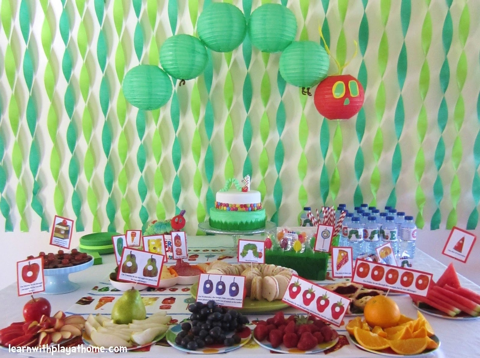10 Attractive The Very Hungry Caterpillar Party Ideas very hungry caterpillar party nisartmacka 1 2020