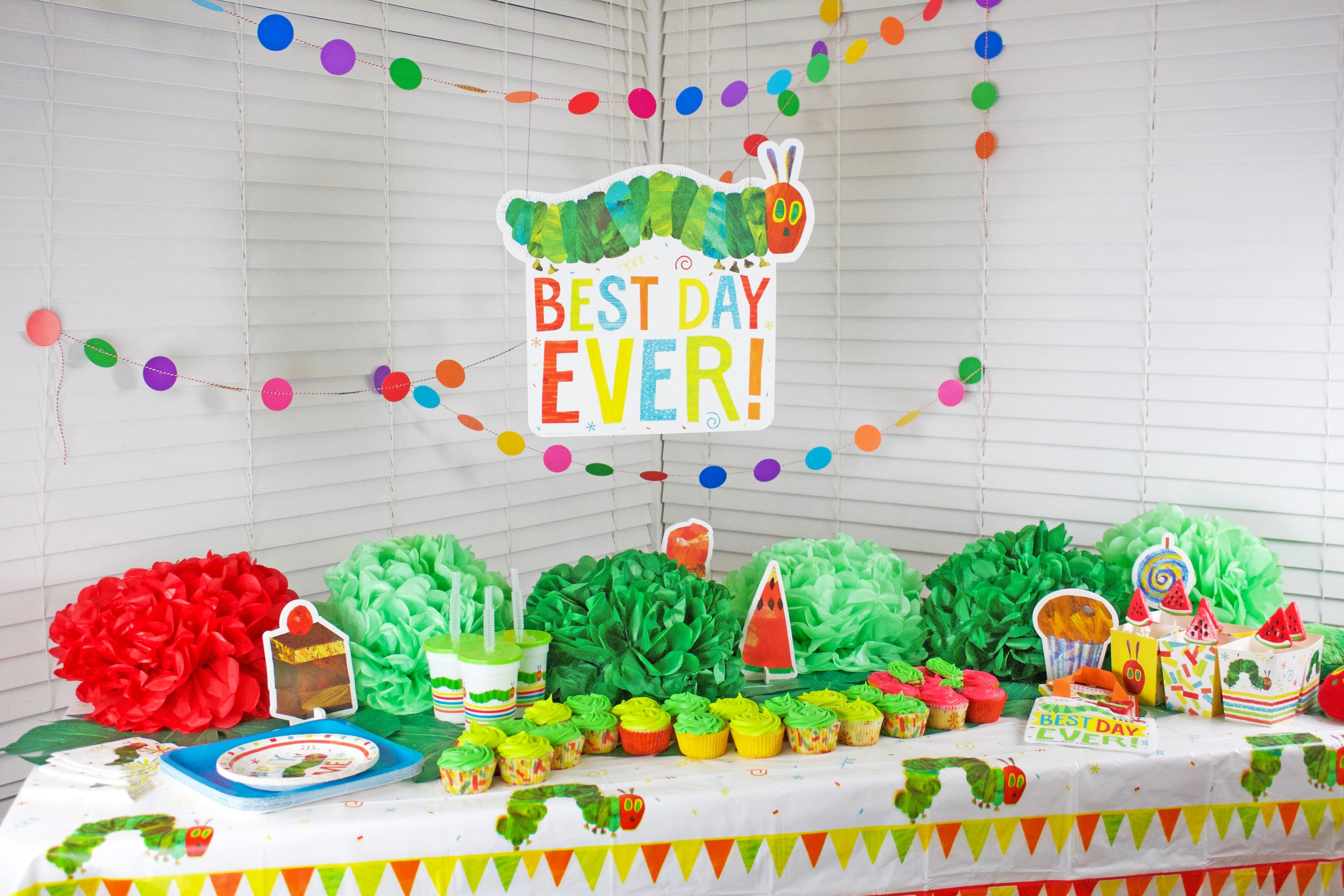 10 Attractive The Very Hungry Caterpillar Party Ideas very hungry caterpillar party nisartmacka 2020