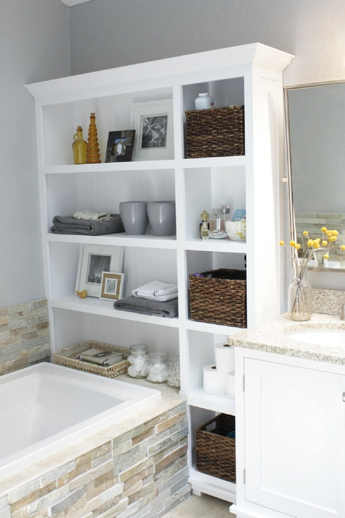 very original bathroom storage ideas — stylid homes