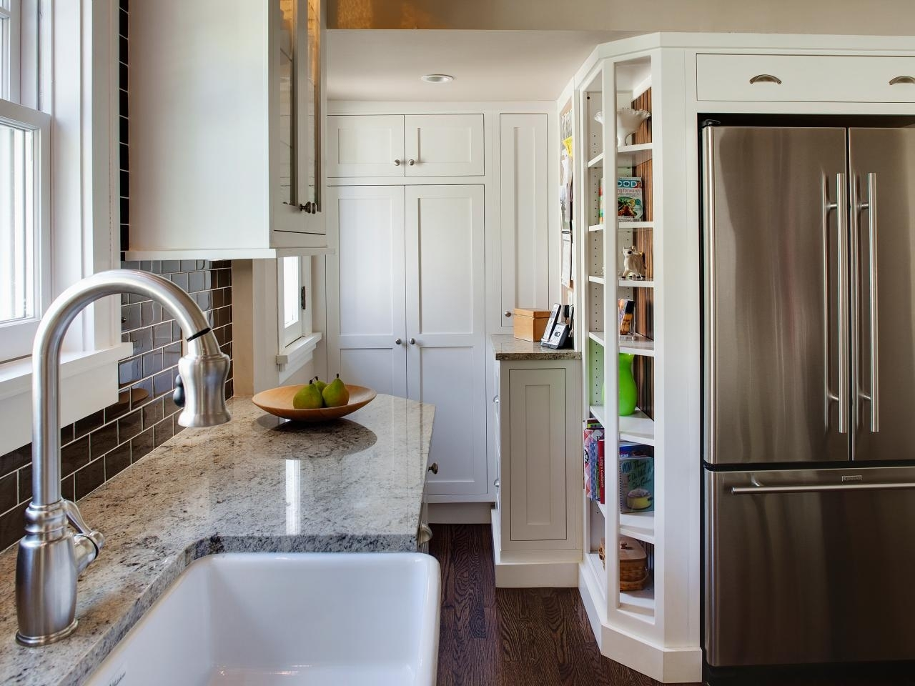 very small kitchen ideas: pictures & tips from hgtv | hgtv