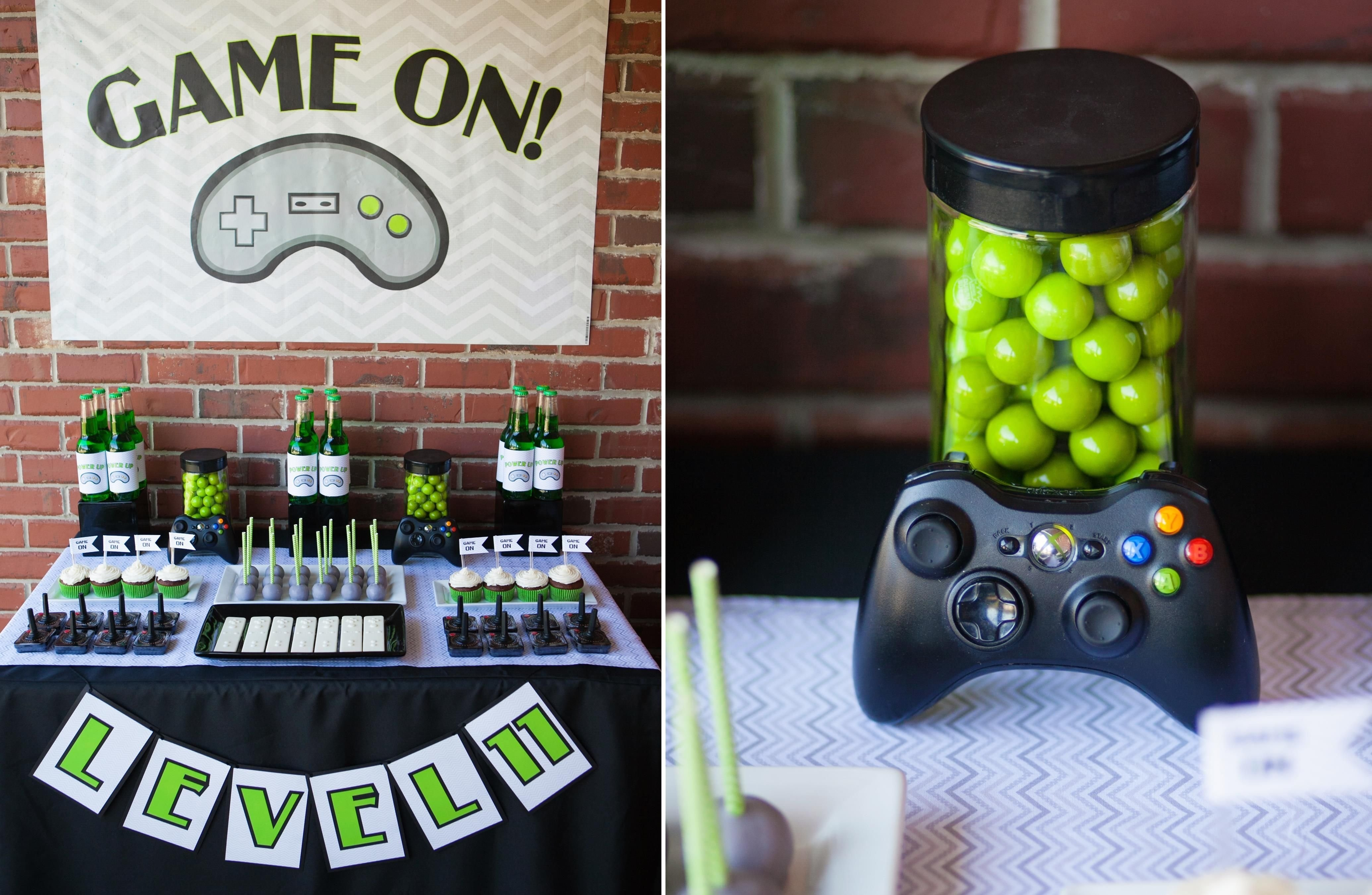 10 Lovely Video Game Birthday Party Ideas video game birthday 3 video game crafts pinterest video 2020