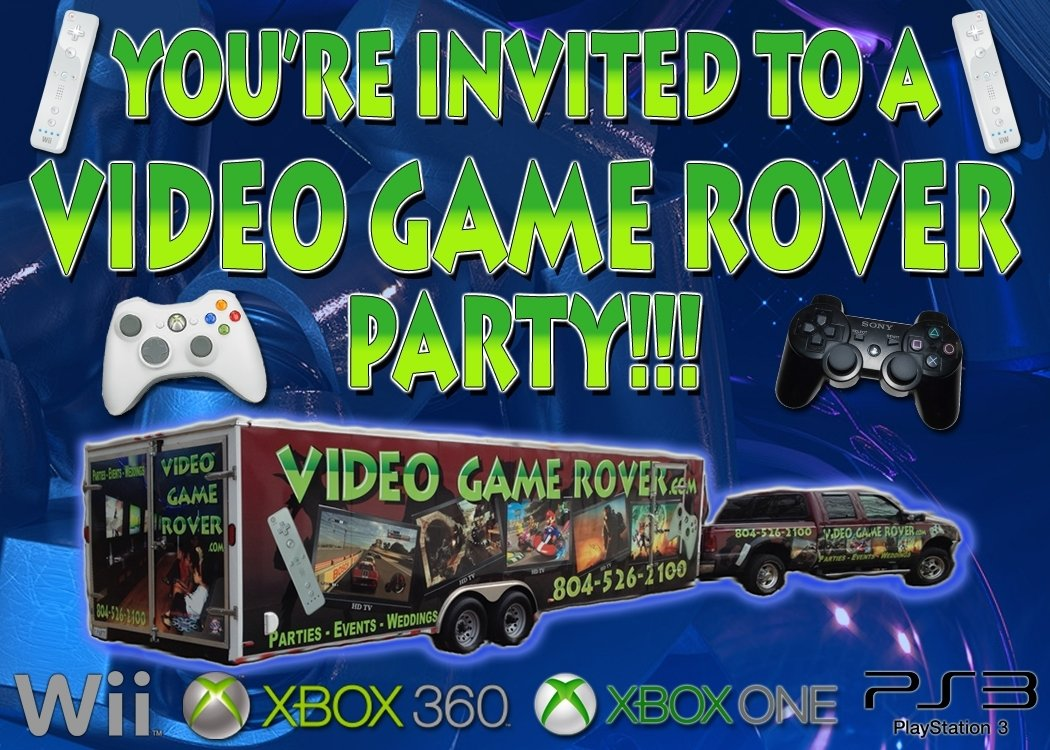 10 Lovely Video Game Birthday Party Ideas video game rover mobile video game party game truck party 2020