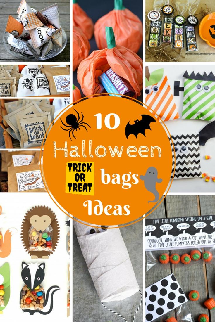 10 Attractive Halloween Trick Or Treat Ideas vikalpah 10 halloween treat bag ideas 2021