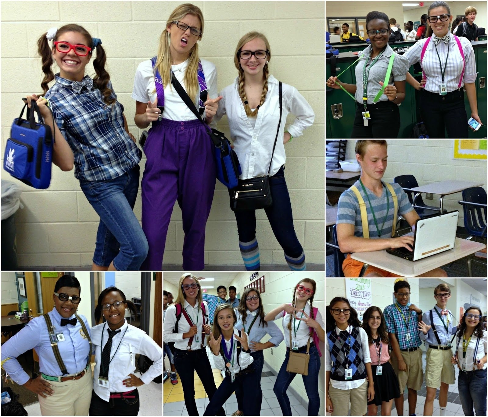 10 Cute Character Day Ideas For Girls viking update homecoming 2013 nerd day 2020