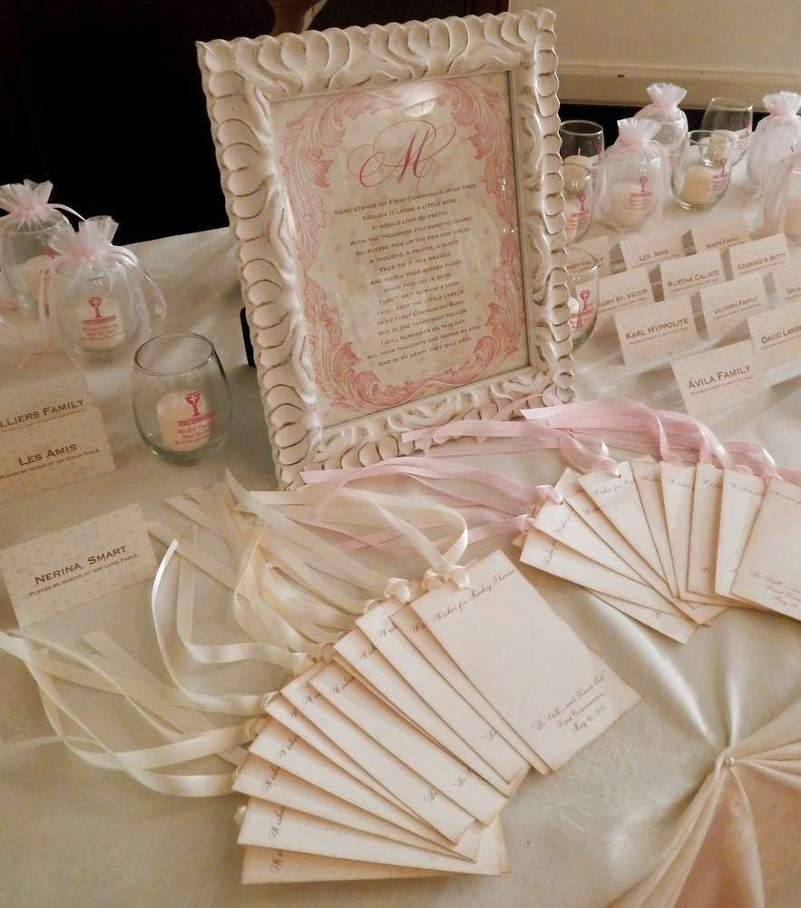 10 Ideal First Holy Communion Party Ideas vintage first holy communion first communion party ideas communion 1 2020