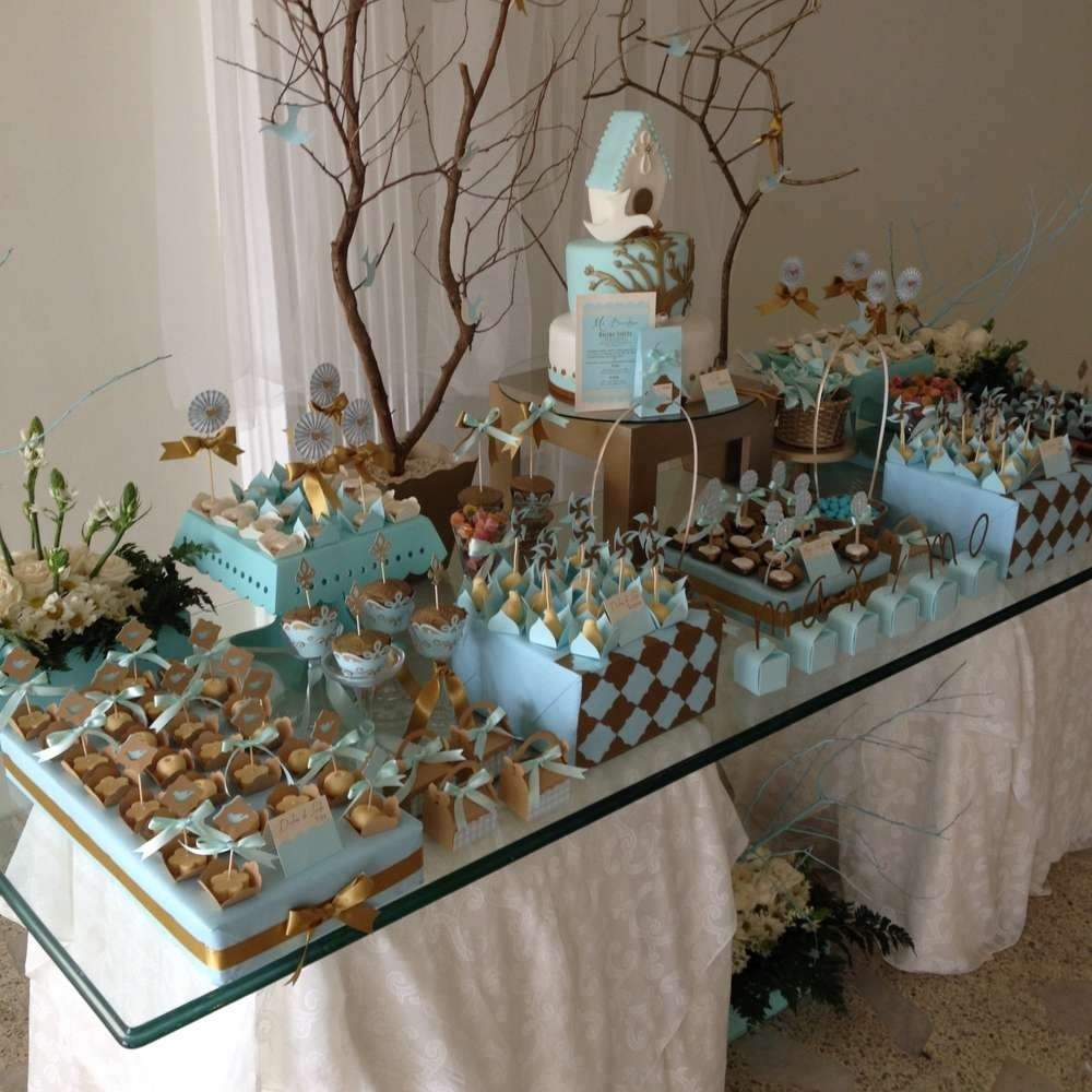 10 Famous Baptism Party Ideas For Boys vintage gold baptism party ideas photo 2 of 12 catch my party
