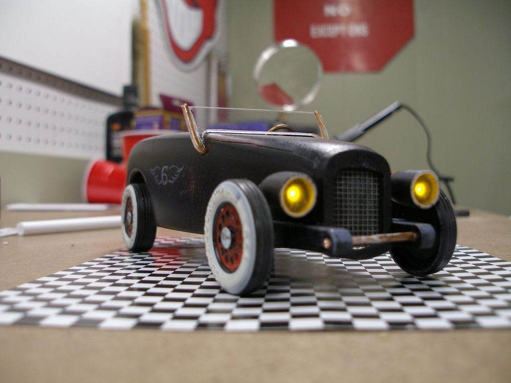 10 Fashionable Ideas For Pinewood Derby Cars vintage headlights and taillights for pinewoood derby car 2021