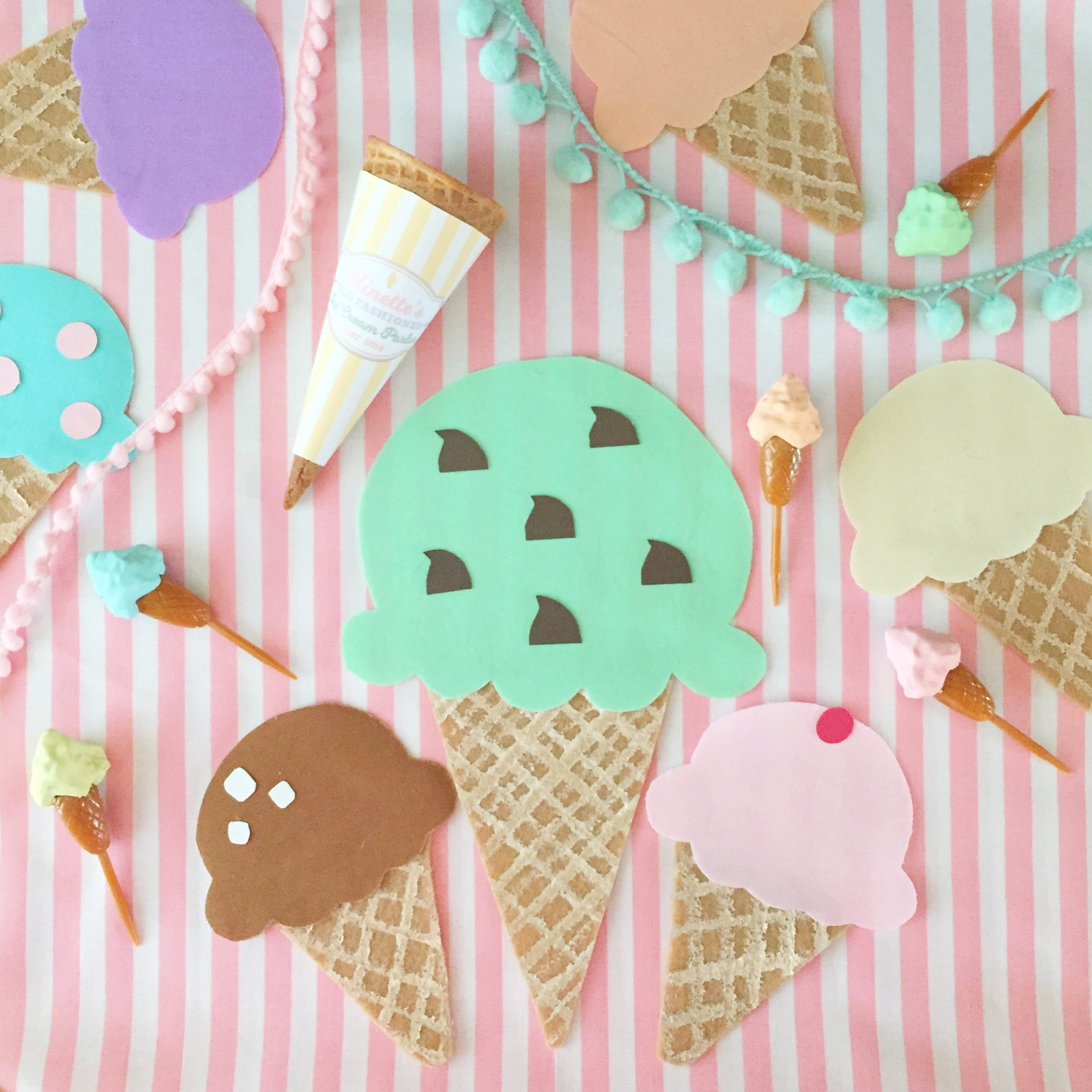 10 Fabulous Ice Cream Birthday Party Ideas vintage ice cream parlor partyminted and vintage dessert stand 2020