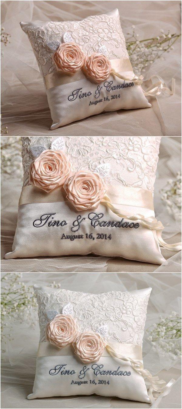 10 Beautiful Ring Bearer Ideas Alternatives To Pillow vintage lace wedding ring bearer pillow 4lovepolkadots wedding 2020