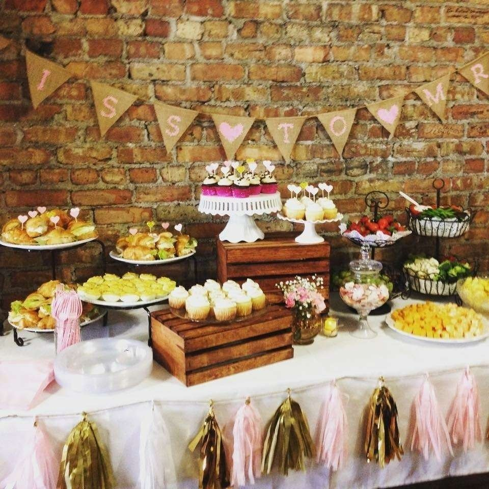 10 Attractive Shabby Chic Bridal Shower Ideas vintage shabby chic bridal wedding shower party ideas rustic table 2020