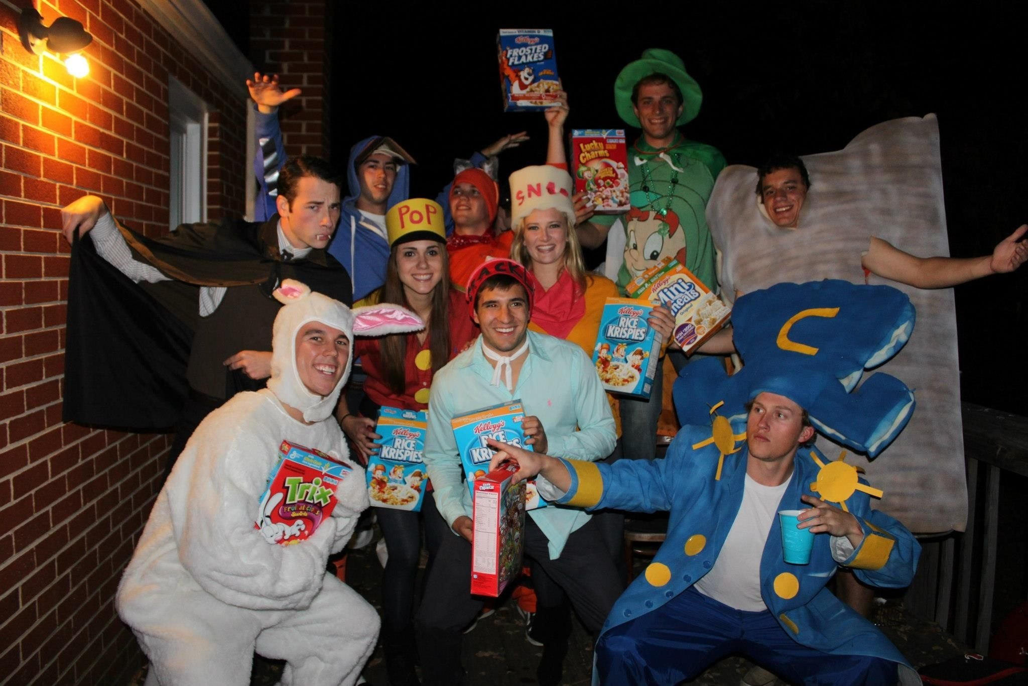 10 Perfect Good Costume Ideas For Groups virginiatech cereal characters good idea fall pinterest 2020