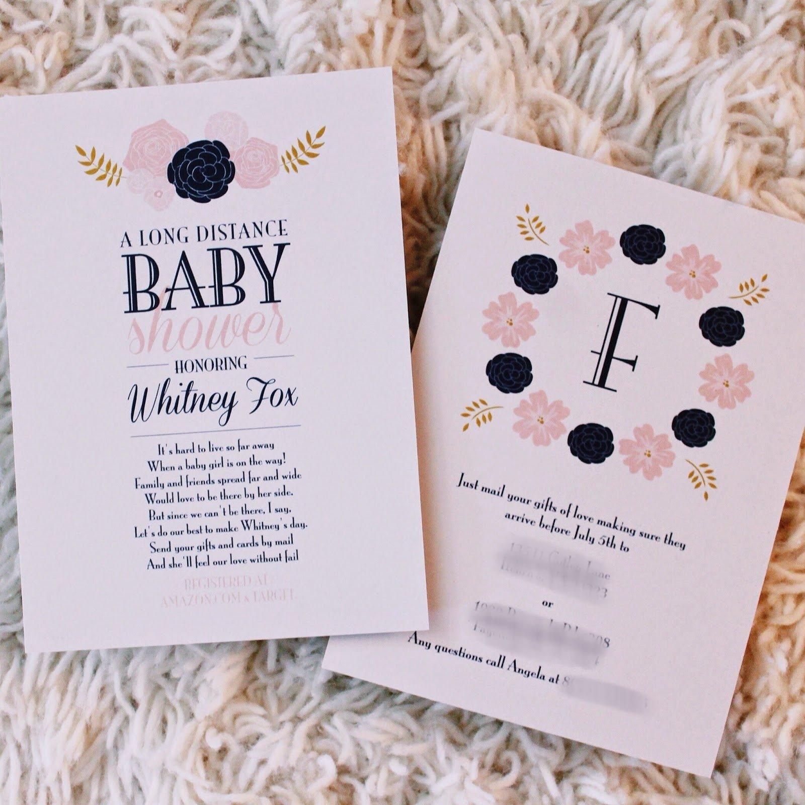 10 Cute Long Distance Baby Shower Ideas virtual baby shower invitations e280a2 baby showers ideas 2020