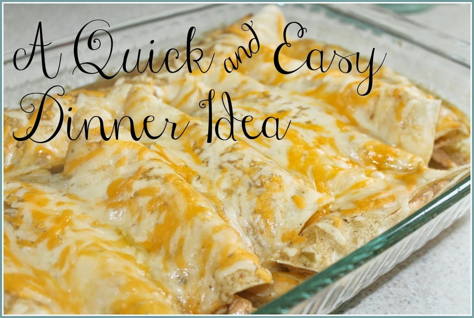10 nice quick meal ideas for two
