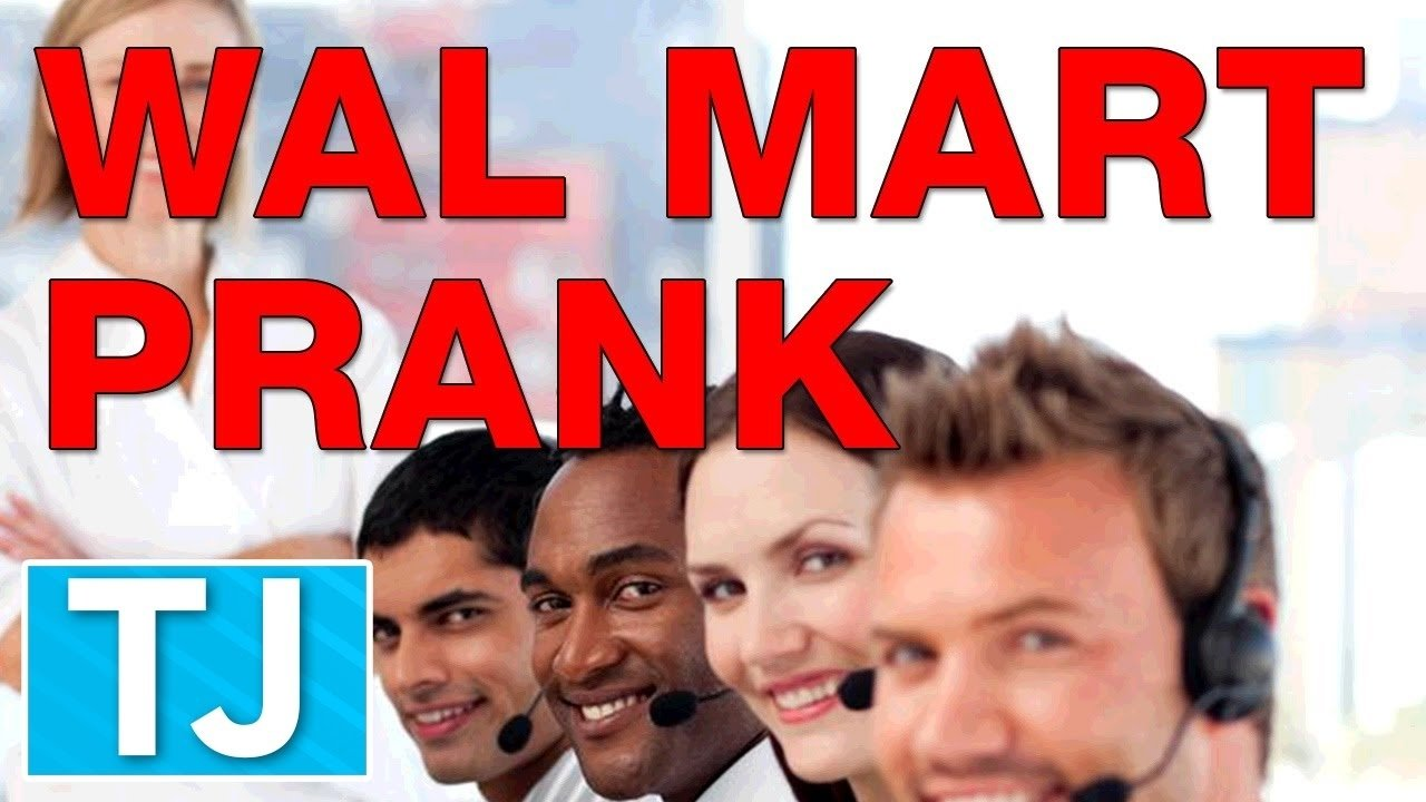 10 Most Recommended Prank Call Ideas For Walmart wal mart prank call connecting 8 wal marts at once youtube