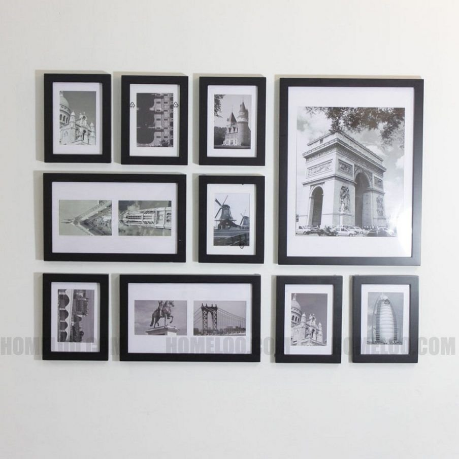 10 Most Popular Picture Frame Collage Ideas For Wall wall decor cool photo wall collage sizes photo wall collage ideas 2020