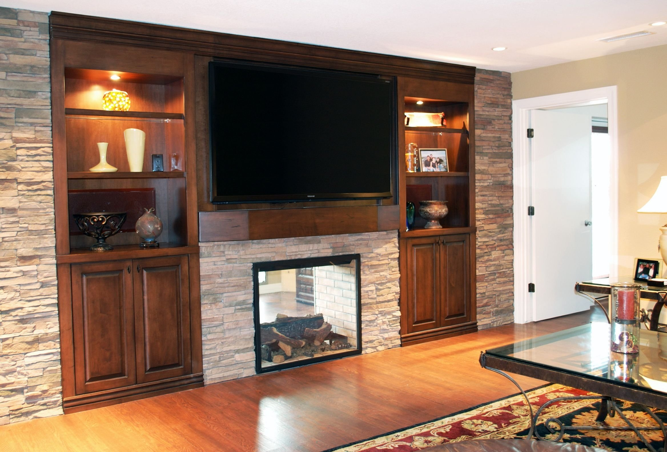 10 Awesome Built In Entertainment Center Ideas wall entertainment center with fireplace fireplace pinterest 2020