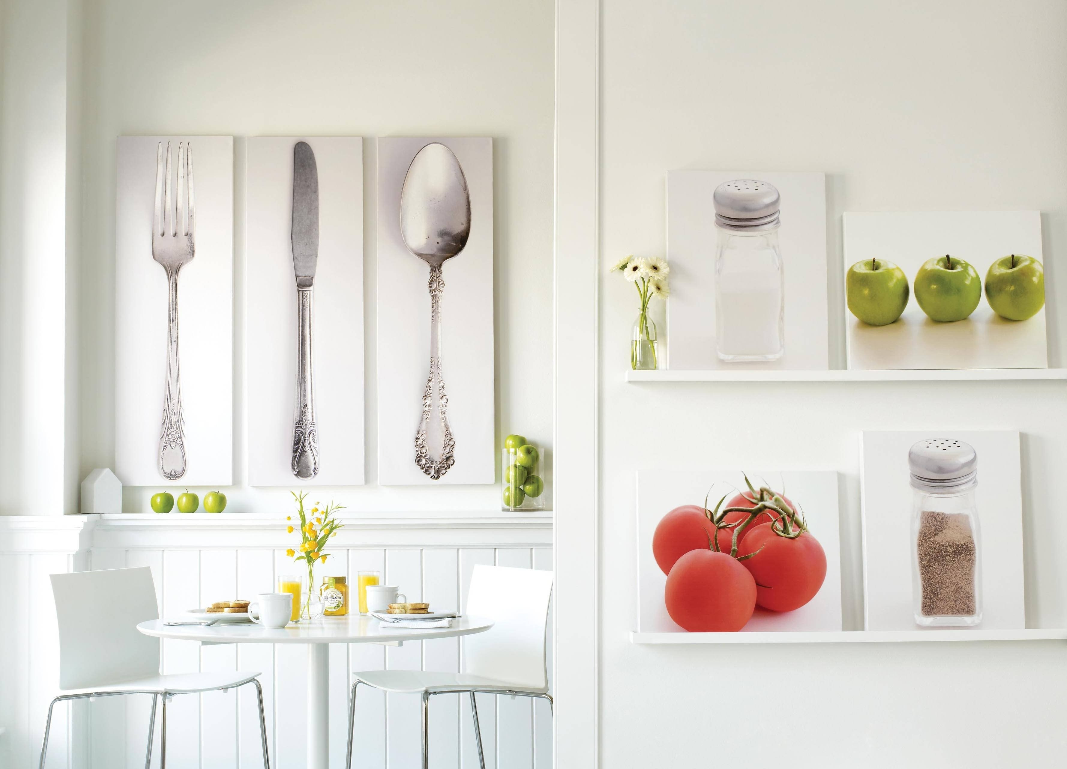 10 Trendy Wall Decor Ideas For Kitchen wall kitchen decor lovely design white wall ideas for kitchens 2020