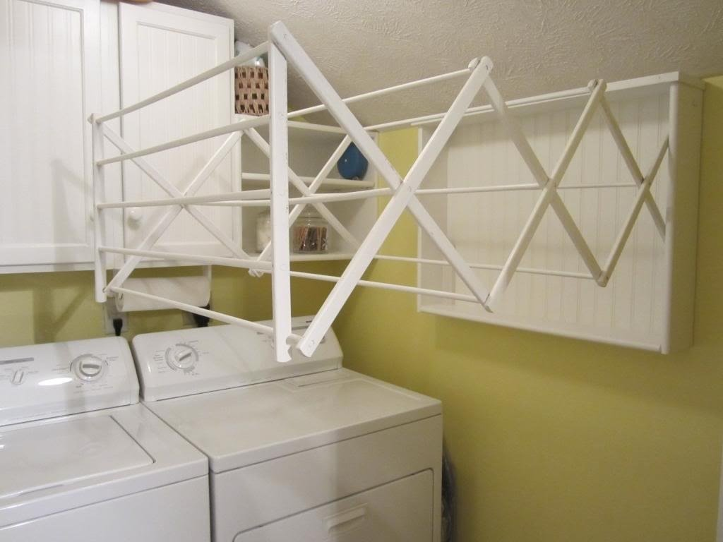 10 Ideal Laundry Room Drying Rack Ideas wall mounted drying racks for laundry room making a laundry room